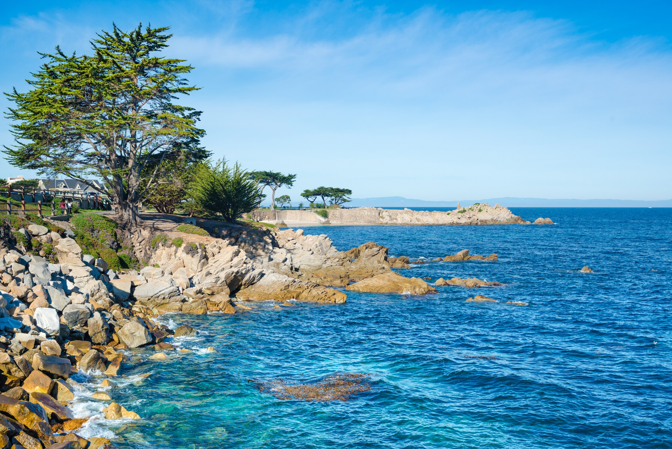 Enjoy the beautiful waters of Monterey Bay.
