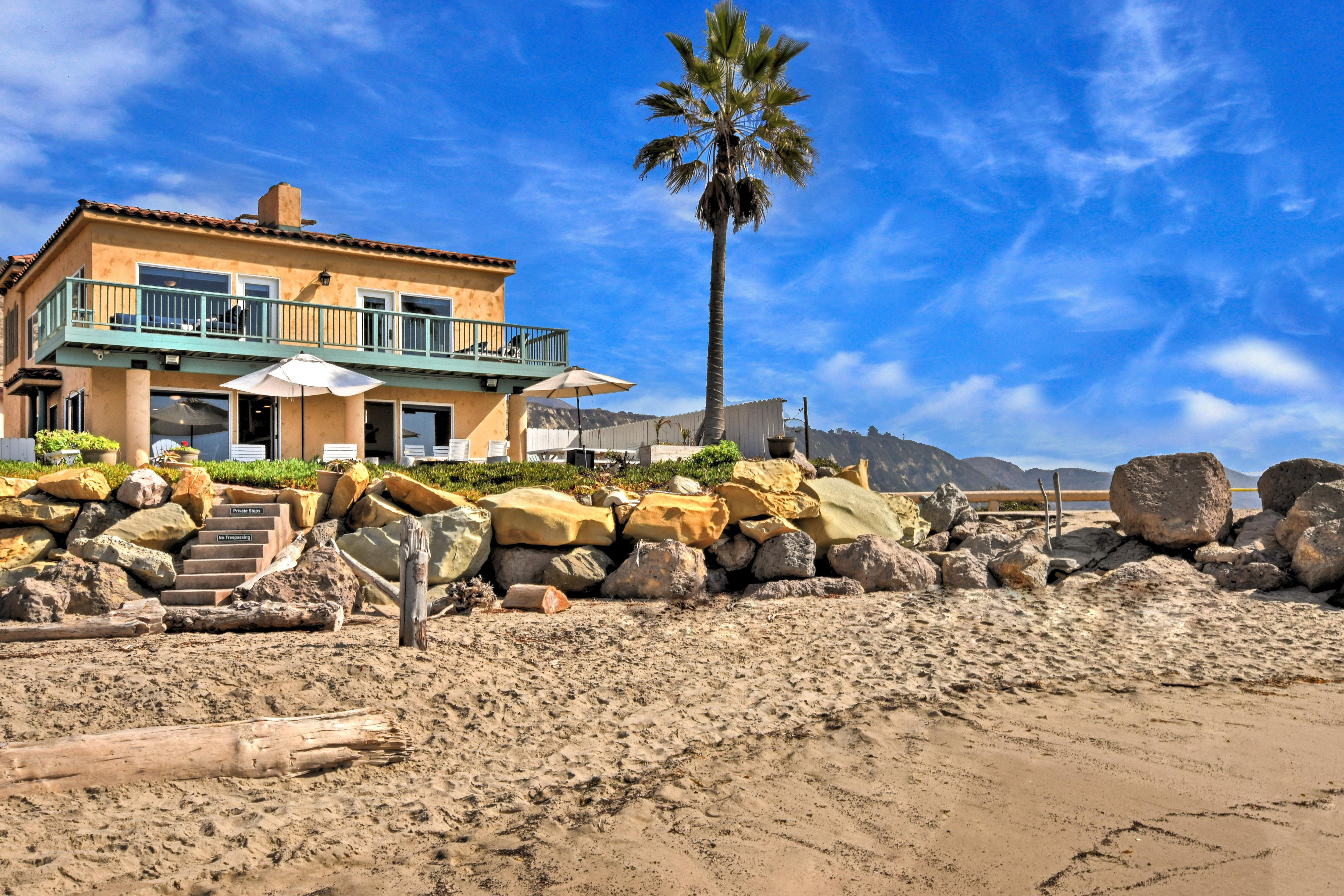 Welcome to Ventura! This oceanfront home is professionally managed by TurnKey Vacation Rentals.