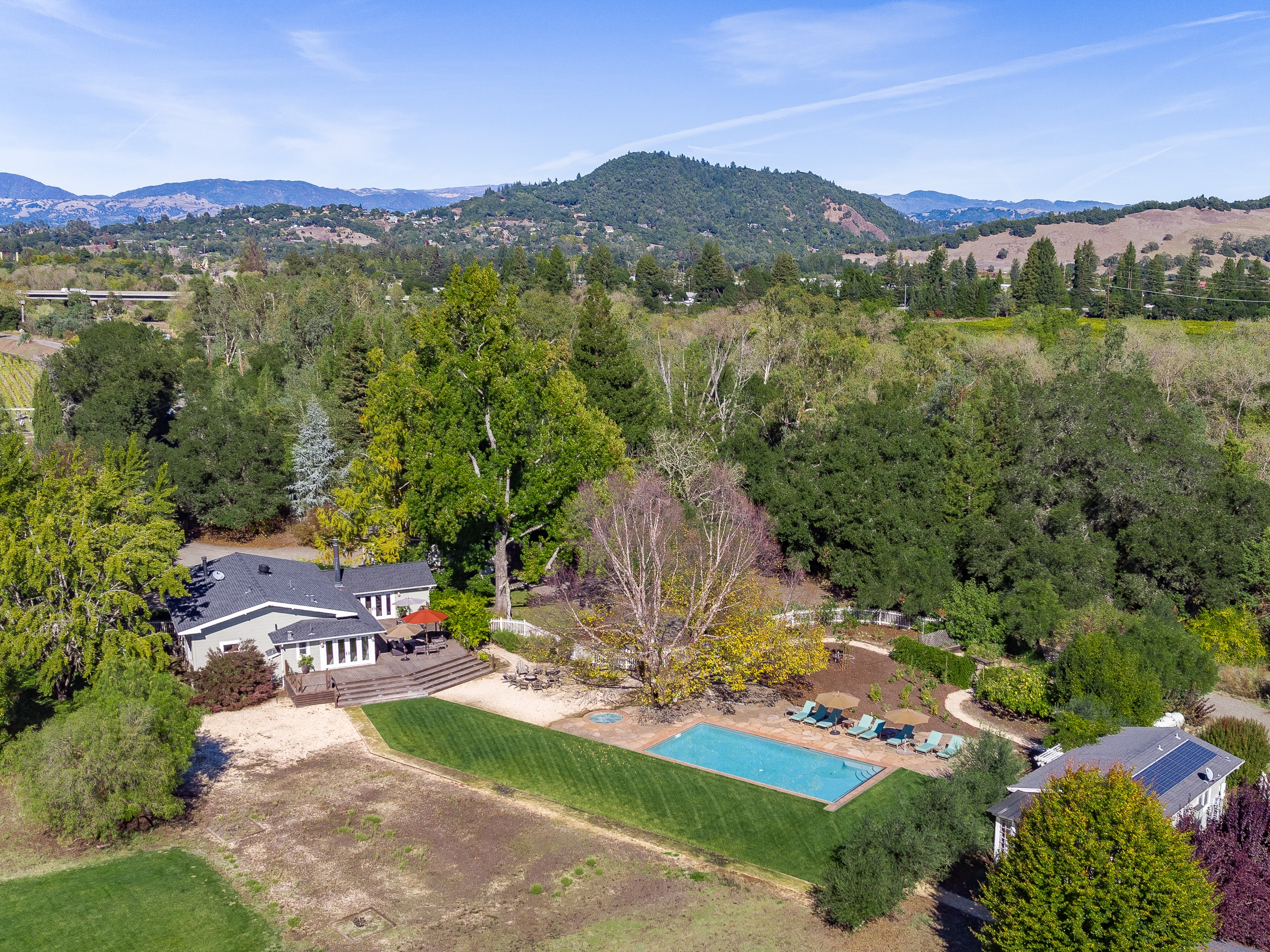 Welcome to Healdsburg! Your rental is professionally managed by TurnKey Vacation Rentals.
