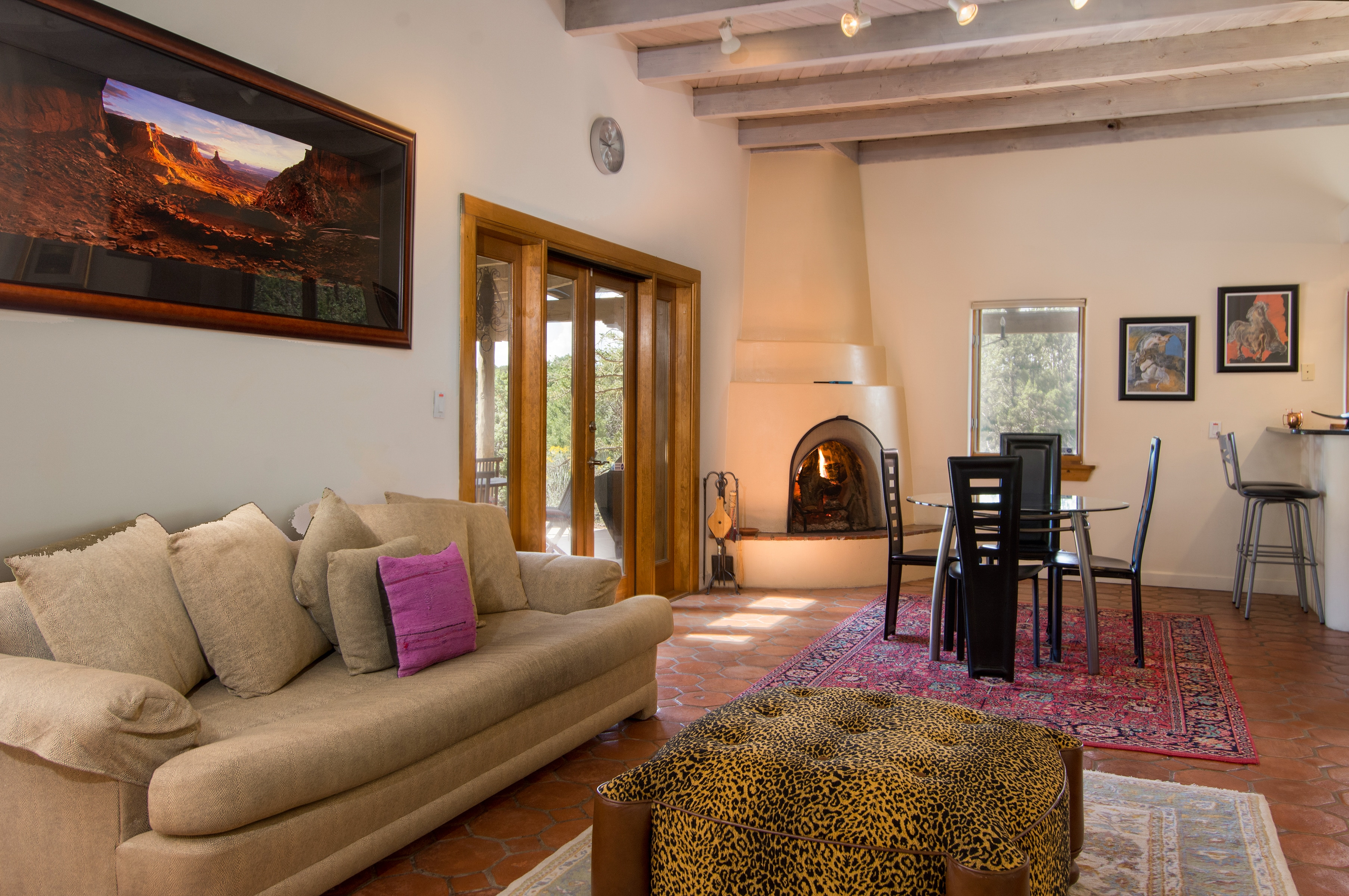 Welcome to Santa Fe! This magnificent home is professionally managed by TurnKey Vacation Rentals.