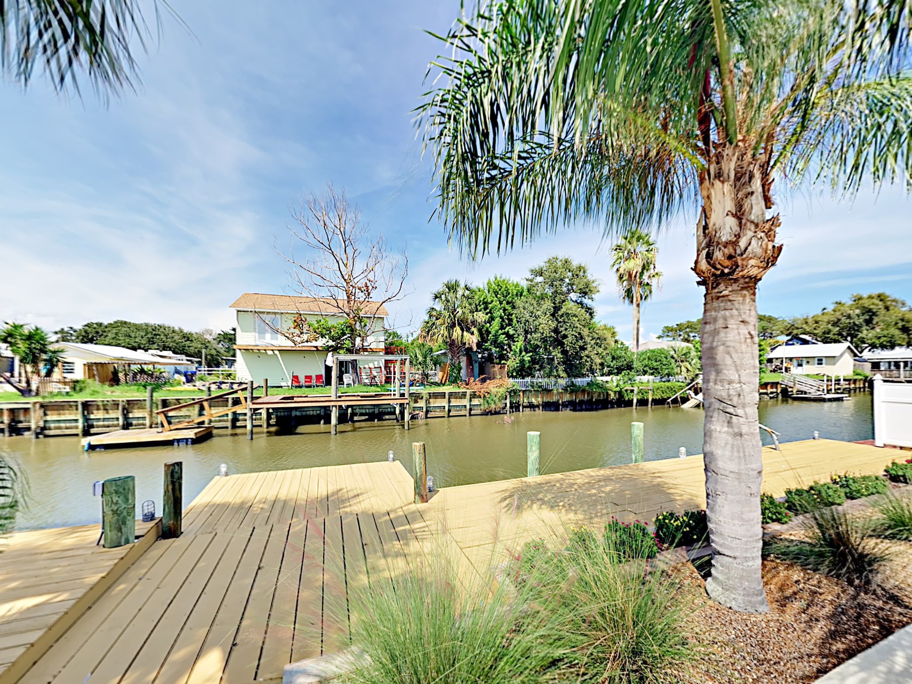 Explore the Intracoastal Waterway from your backyard.