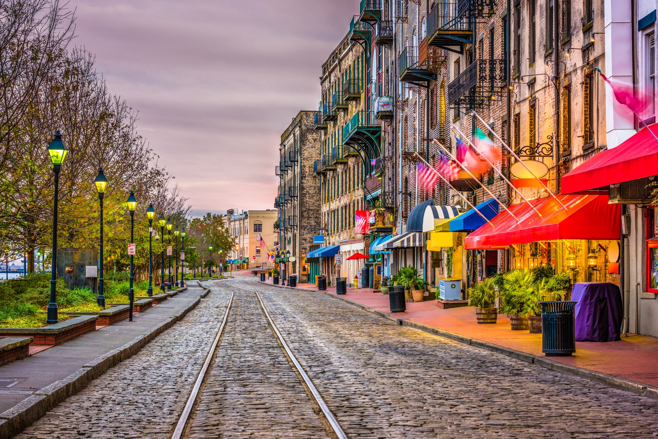 Some of the best Savannah hot spots are just outside your front door. Take a horse-drawn carriage tour on the cobblestone streets.