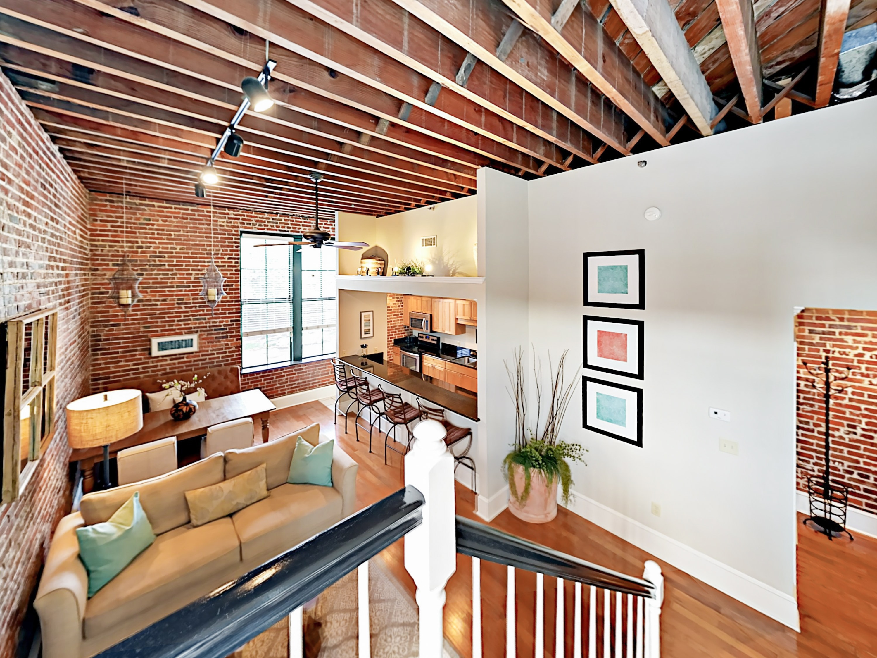 "Welcome to Savannah! Your ""Loft on Congress"" is professionally managed by TurnKey Vacation Rentals."