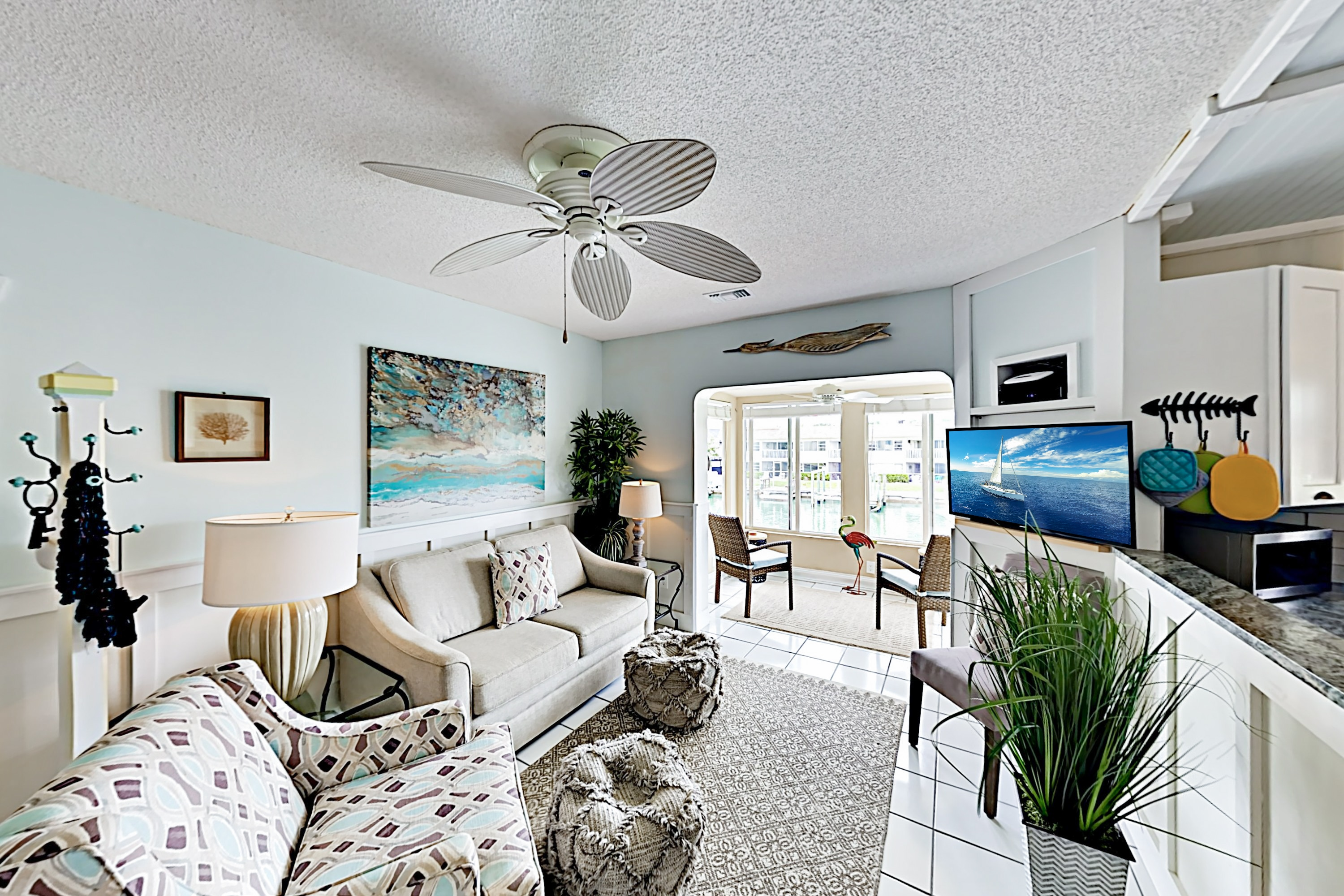 """Pointe Capri 14"" - Chic Beach Getaway w/ Pool"