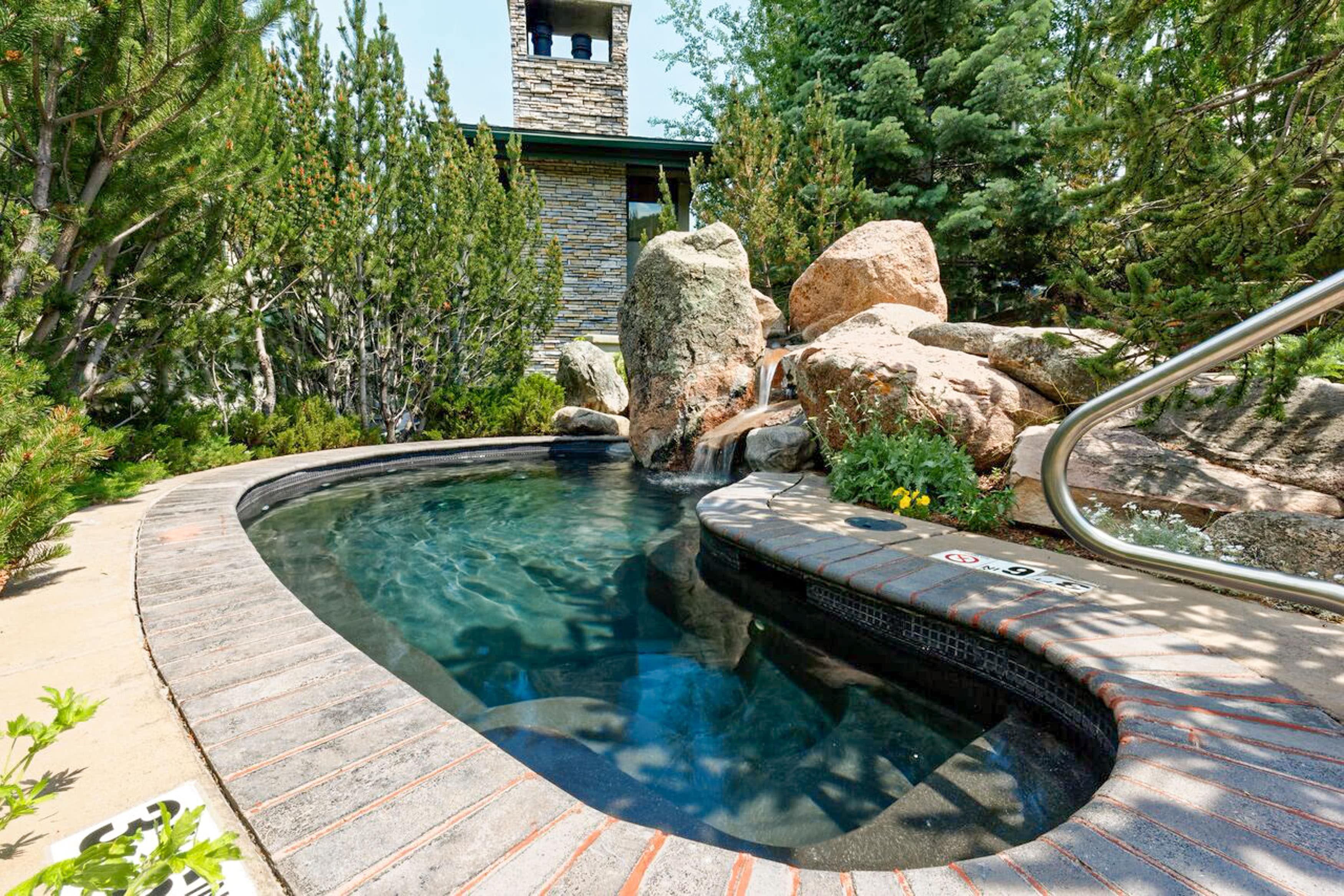Relax and restore in the Tamarack Townhomes hot tubs.