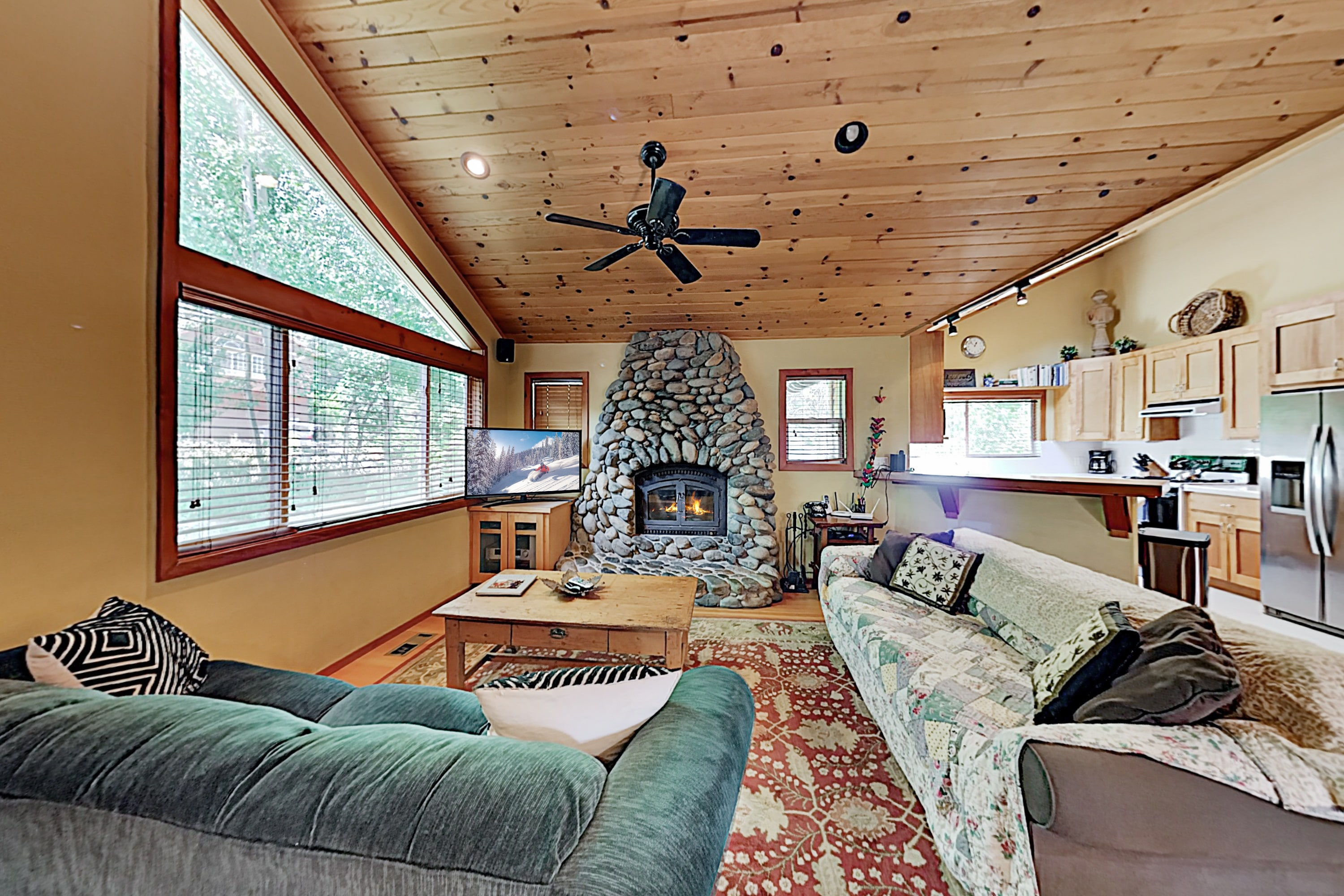 Welcome to Tahoe City! This cabin is professionally managed by TurnKey Vacation Rentals.