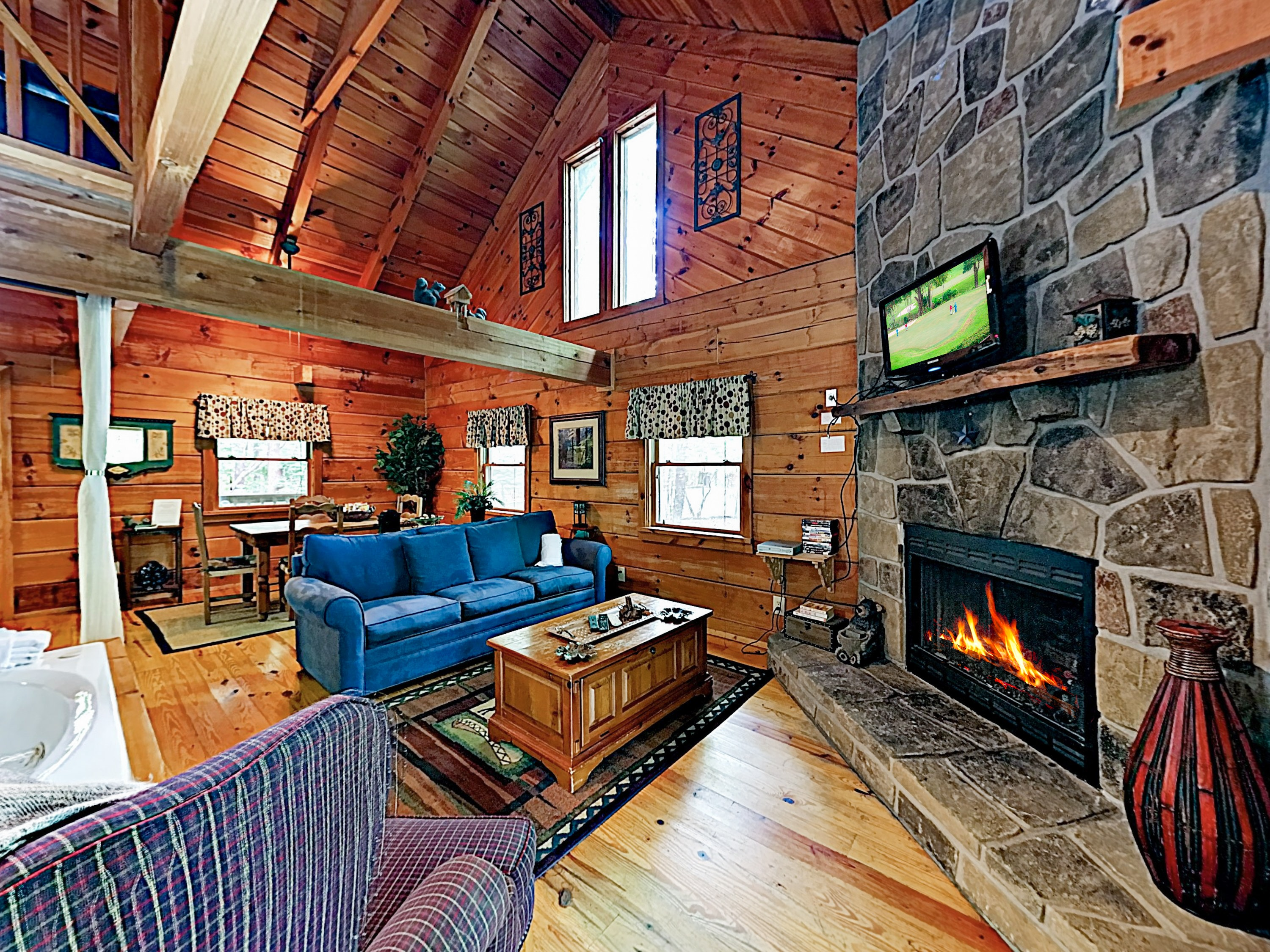 Welcome to Sevierville! This cabin is professionally managed by TurnKey Vacation Rentals.