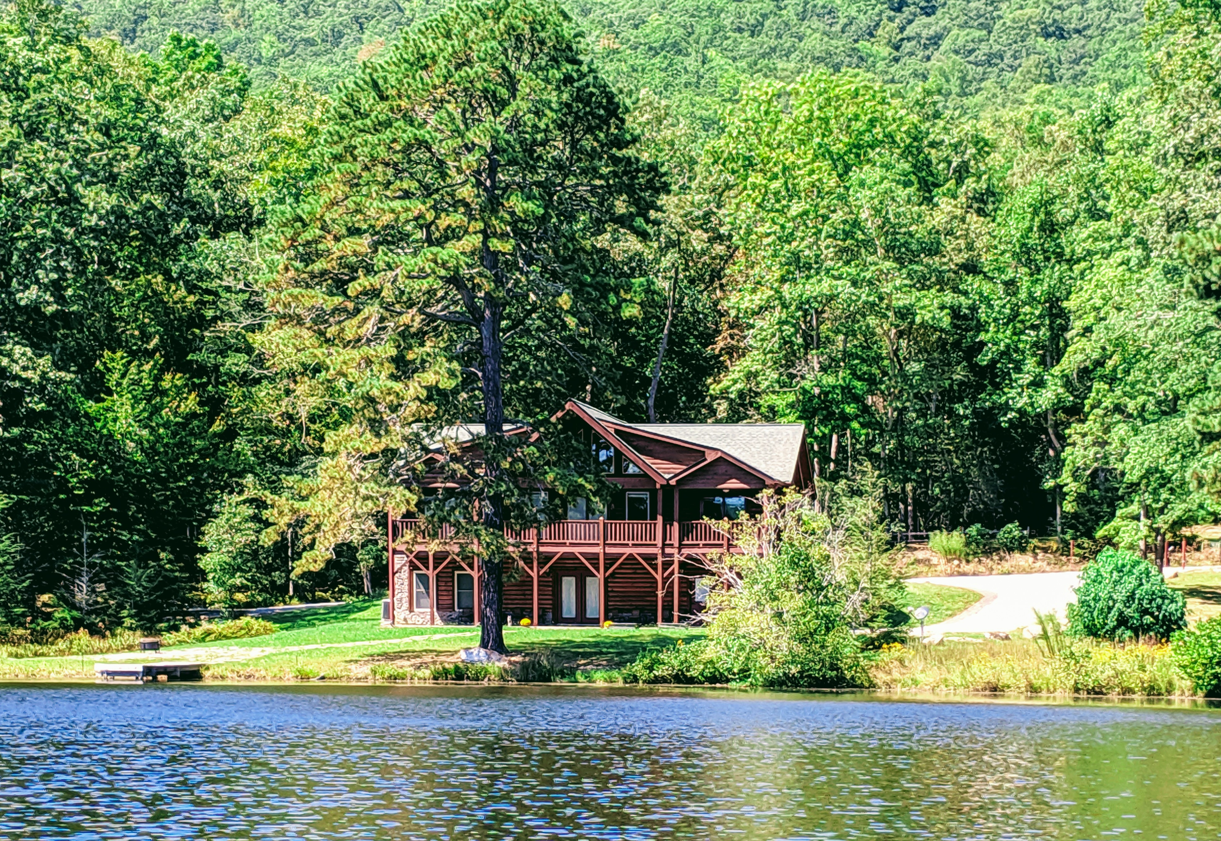 Welcome to Mills River! This home is professionally managed by TurnKey Vacation Rentals.