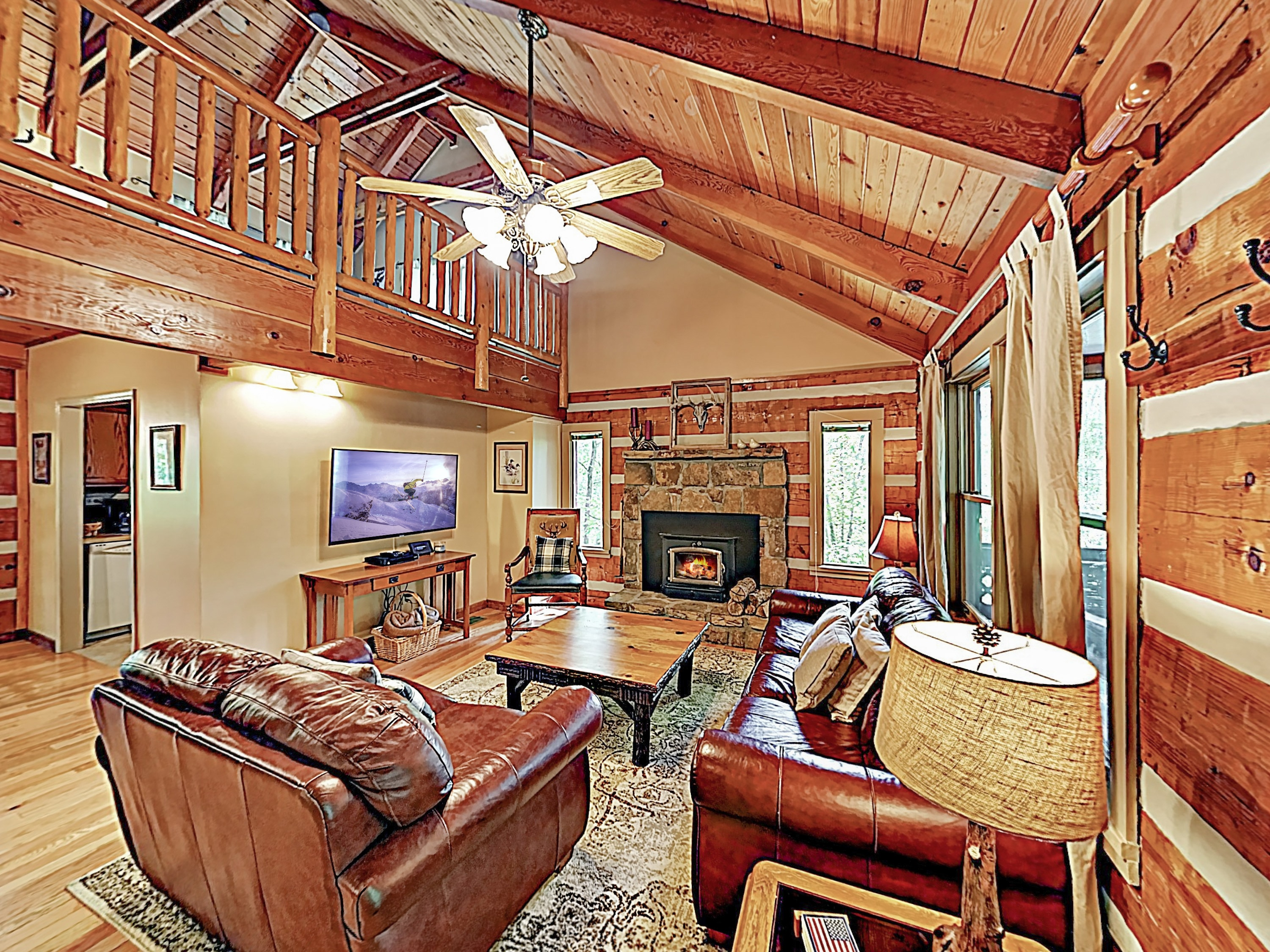 Welcome to Sevierville! This lavish cabin is professionally managed by TurnKey Vacation Rentals.