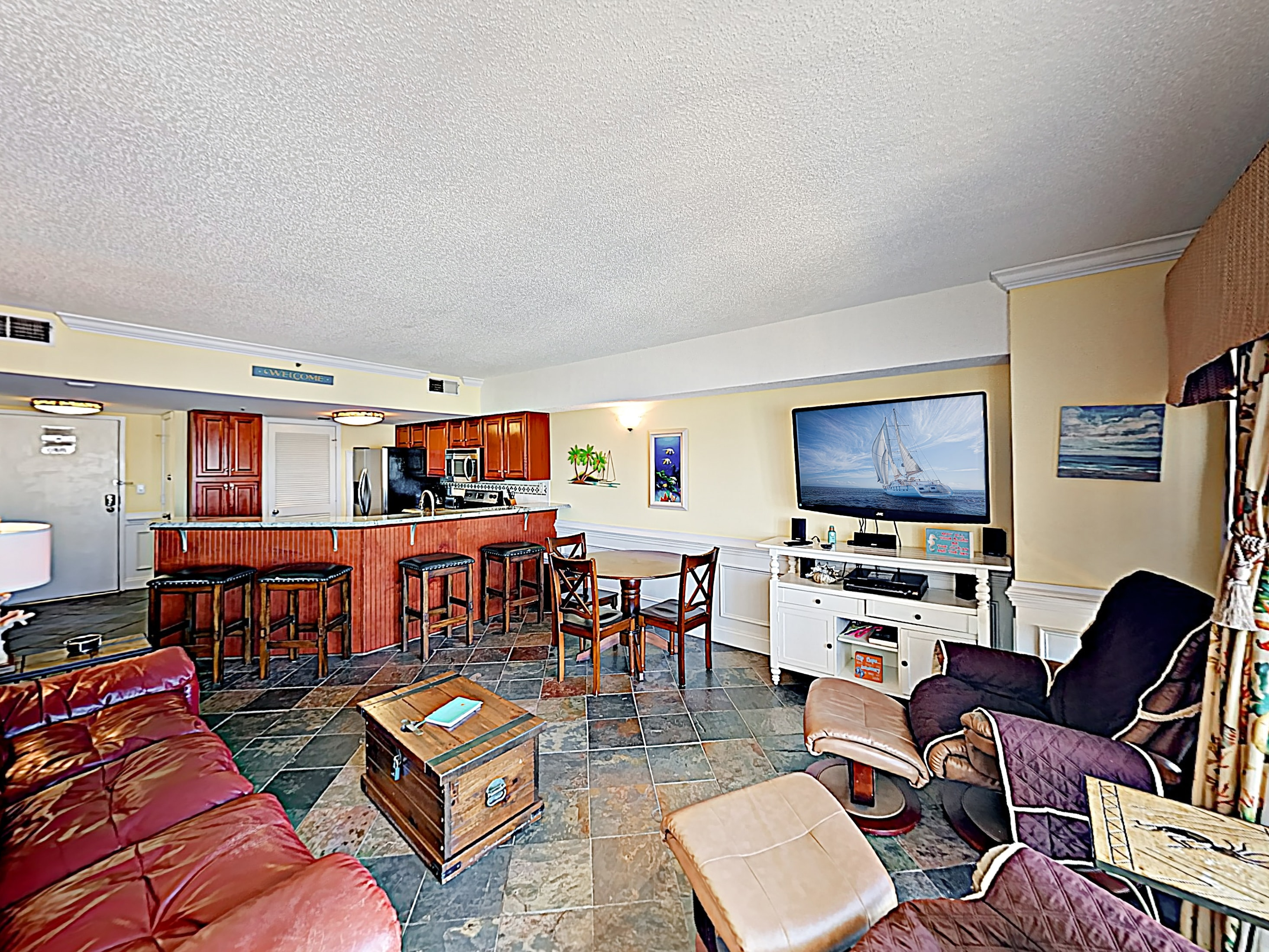 Welcome! This 10th-floor condo is professionally managed by TurnKey Vacation Rentals.
