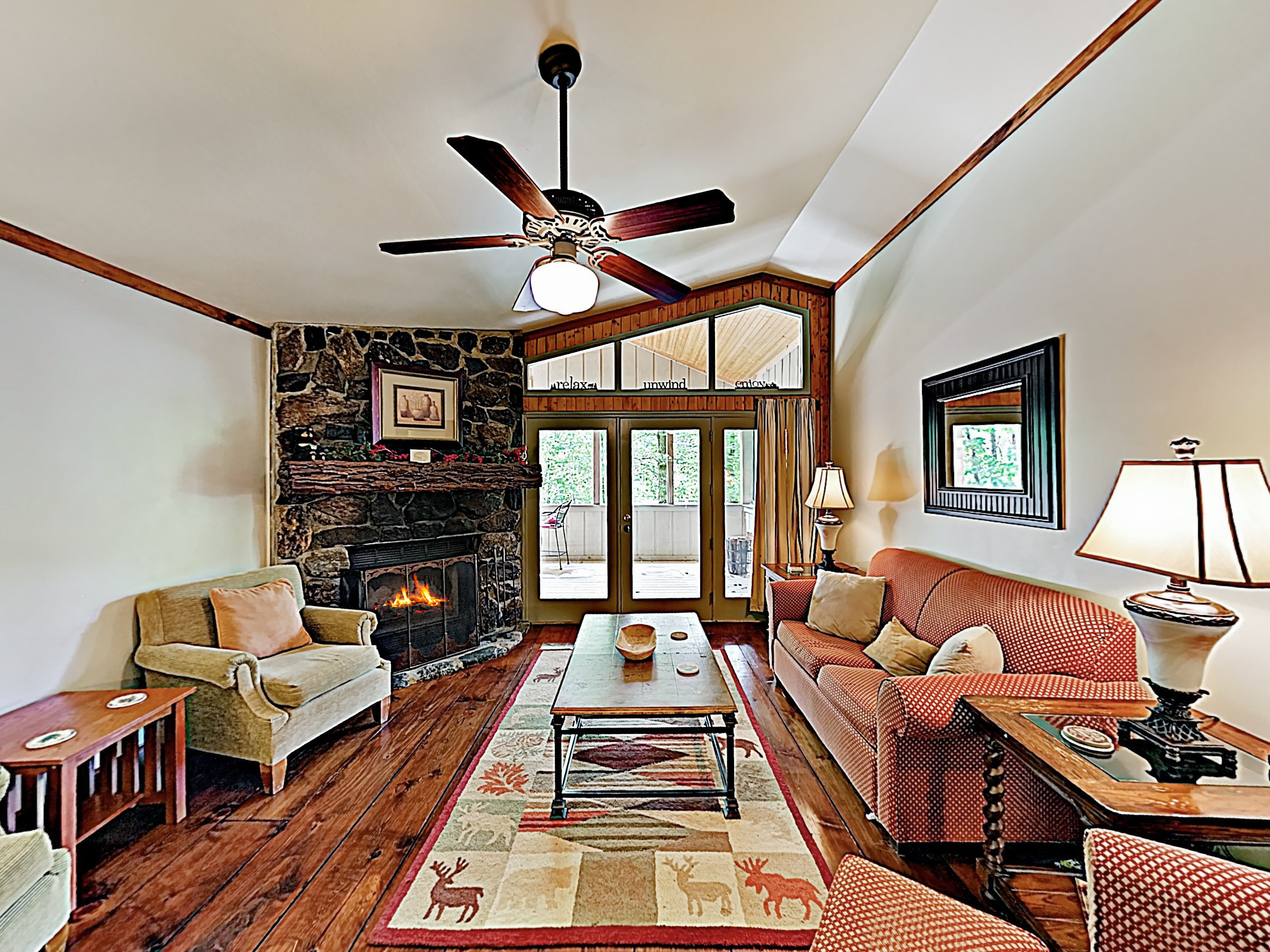 Welcome to Sapphire! Bear Creek Cabin is professionally managed by TurnKey Vacation Rentals.