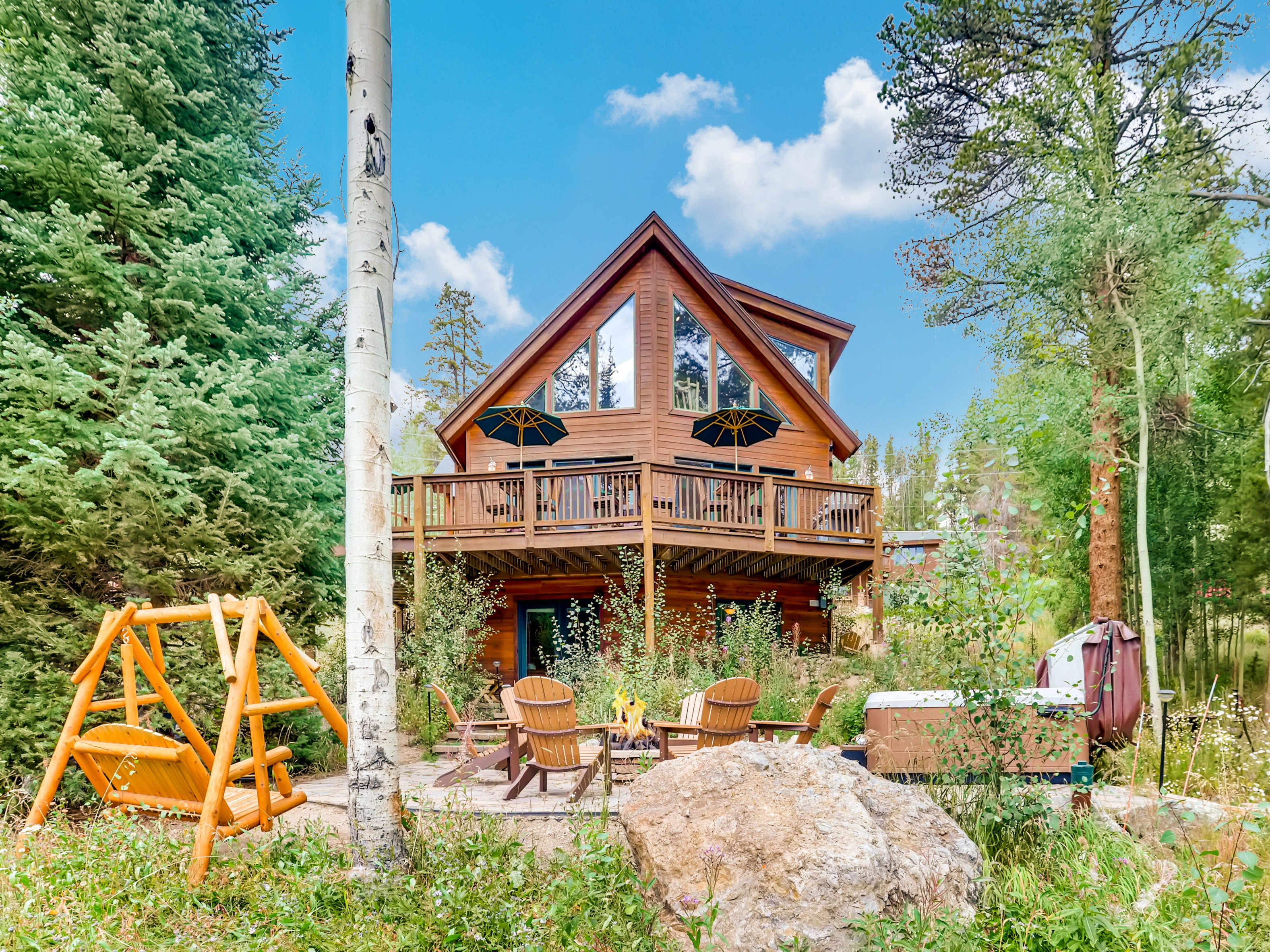 Welcome to Columbine Rock Lodge! This woodsy home is professionally managed by TurnKey Vacation Rentals.