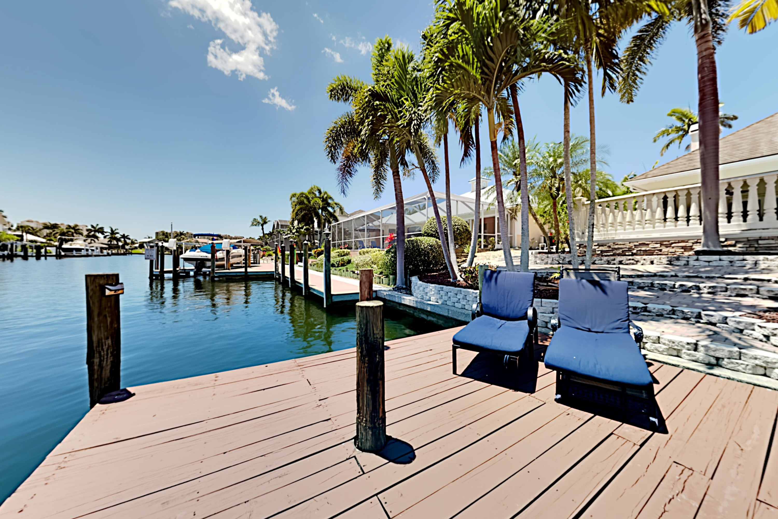 Property Image 2 - Canal-Front Estate w/ Pool, Dock & European Flair