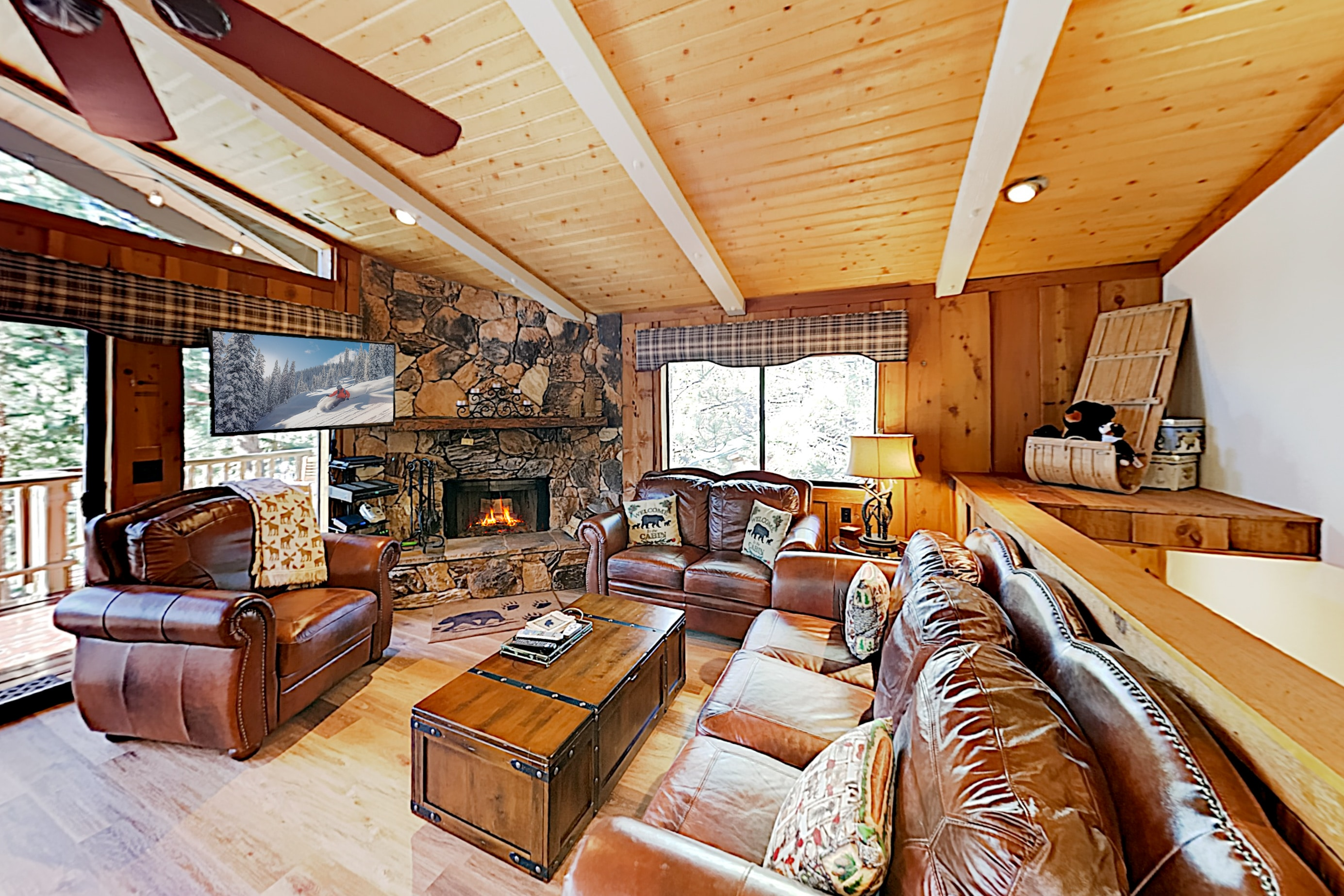 Welcome to Big Bear Lake! This home is professionally managed by TurnKey Vacation Rentals.