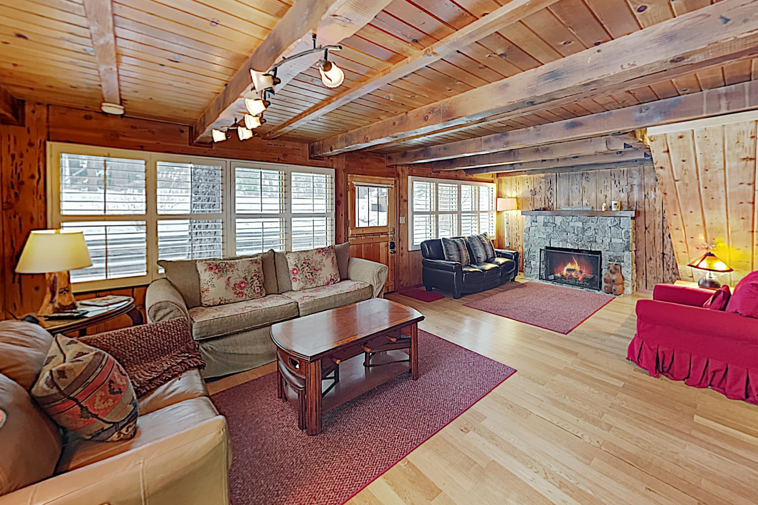 Welcome to Homewood! This classic Timberland cabin is professionally managed by TurnKey Vacation Rentals.