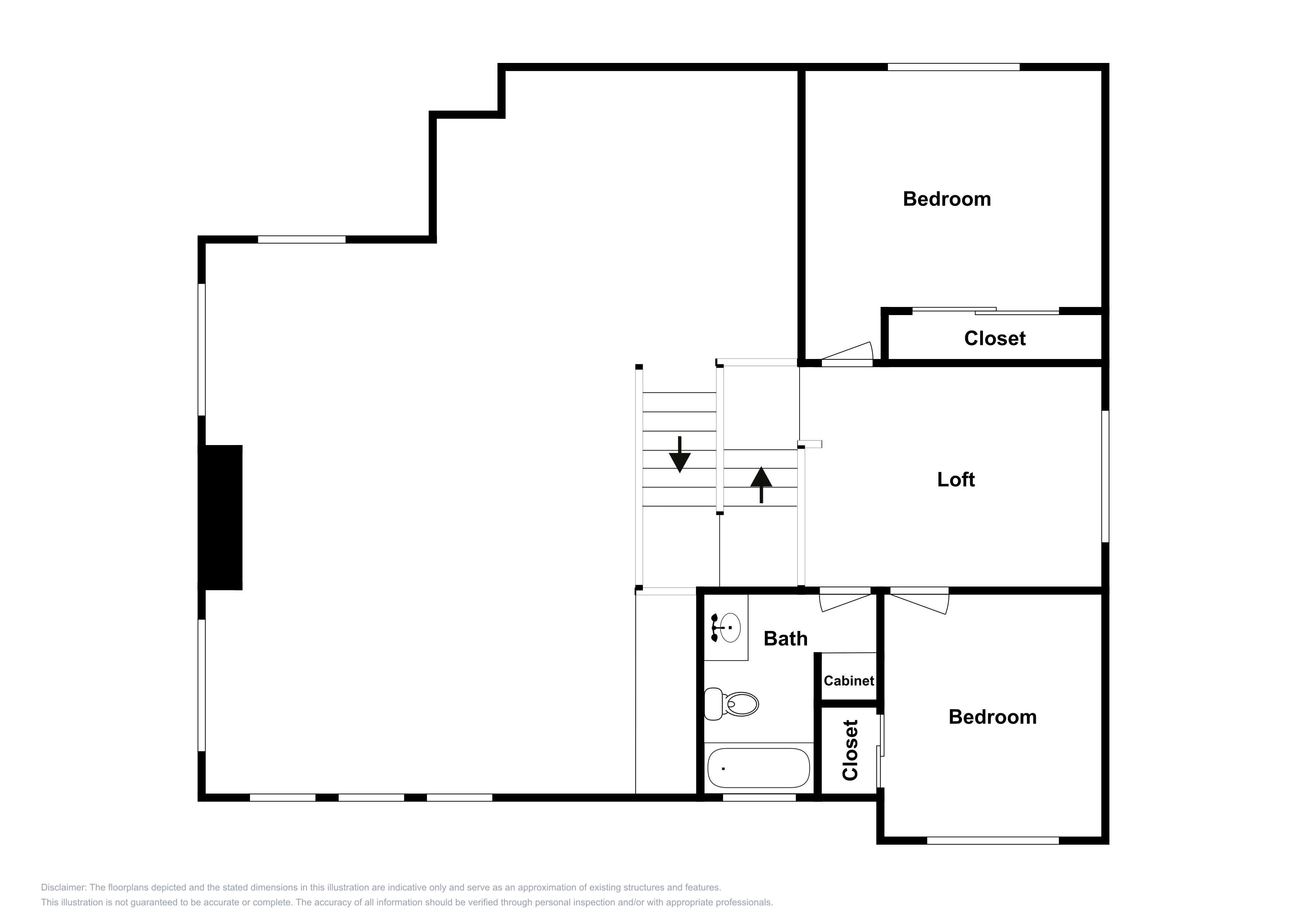 This 3rd-floor layout is an approximation and may not include the most recent information.