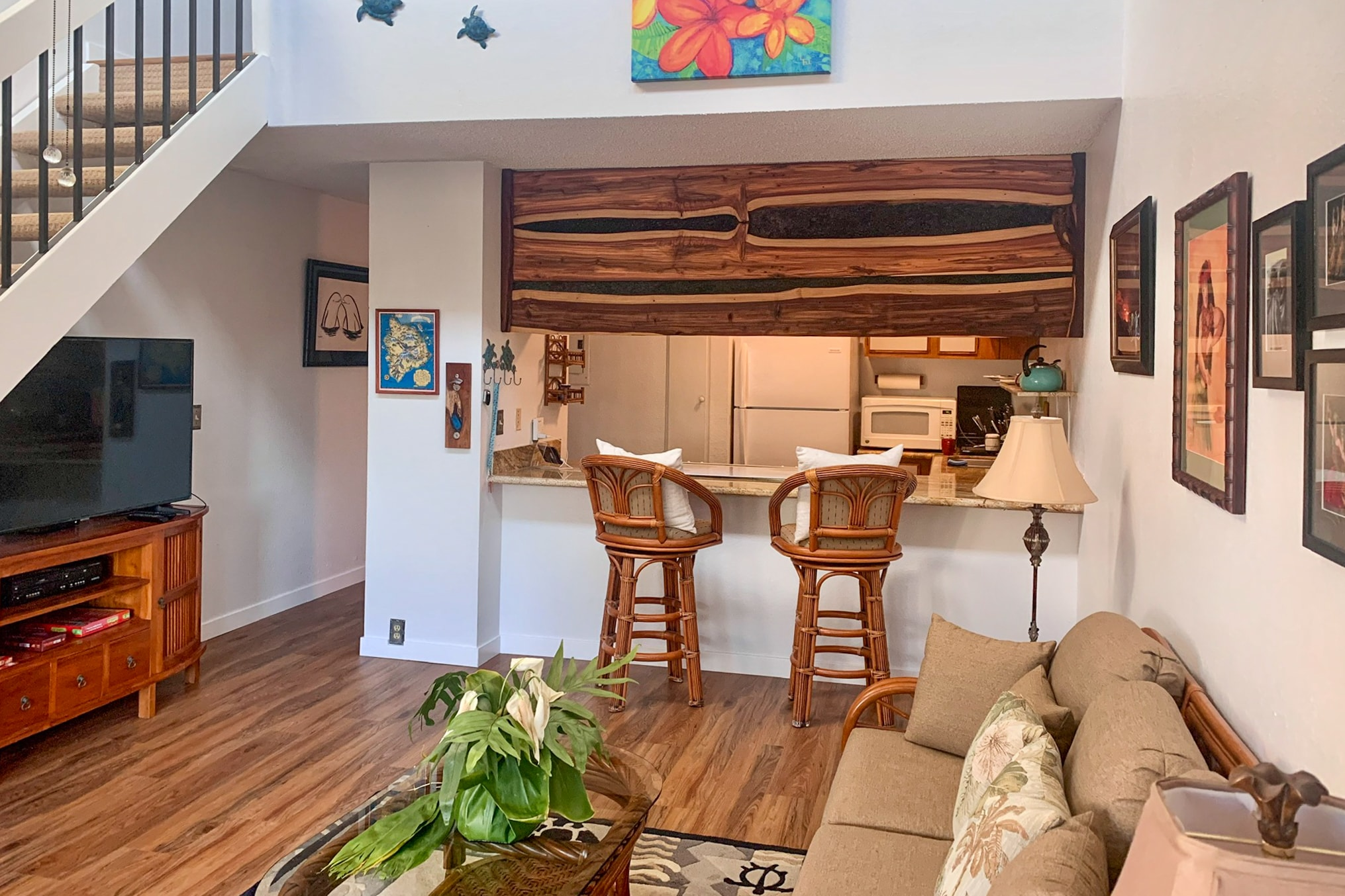 Enjoy A Little Aloha: private lanai and ocean view