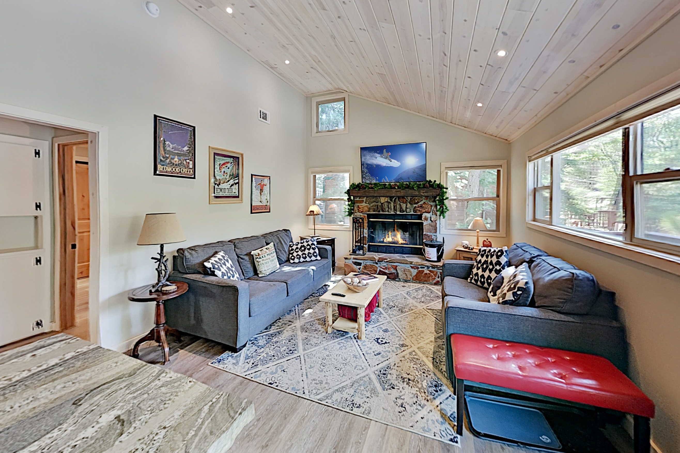 Property Image 2 - Updated Vintage Cabin: Hot Tub, Near Skiing, Golf