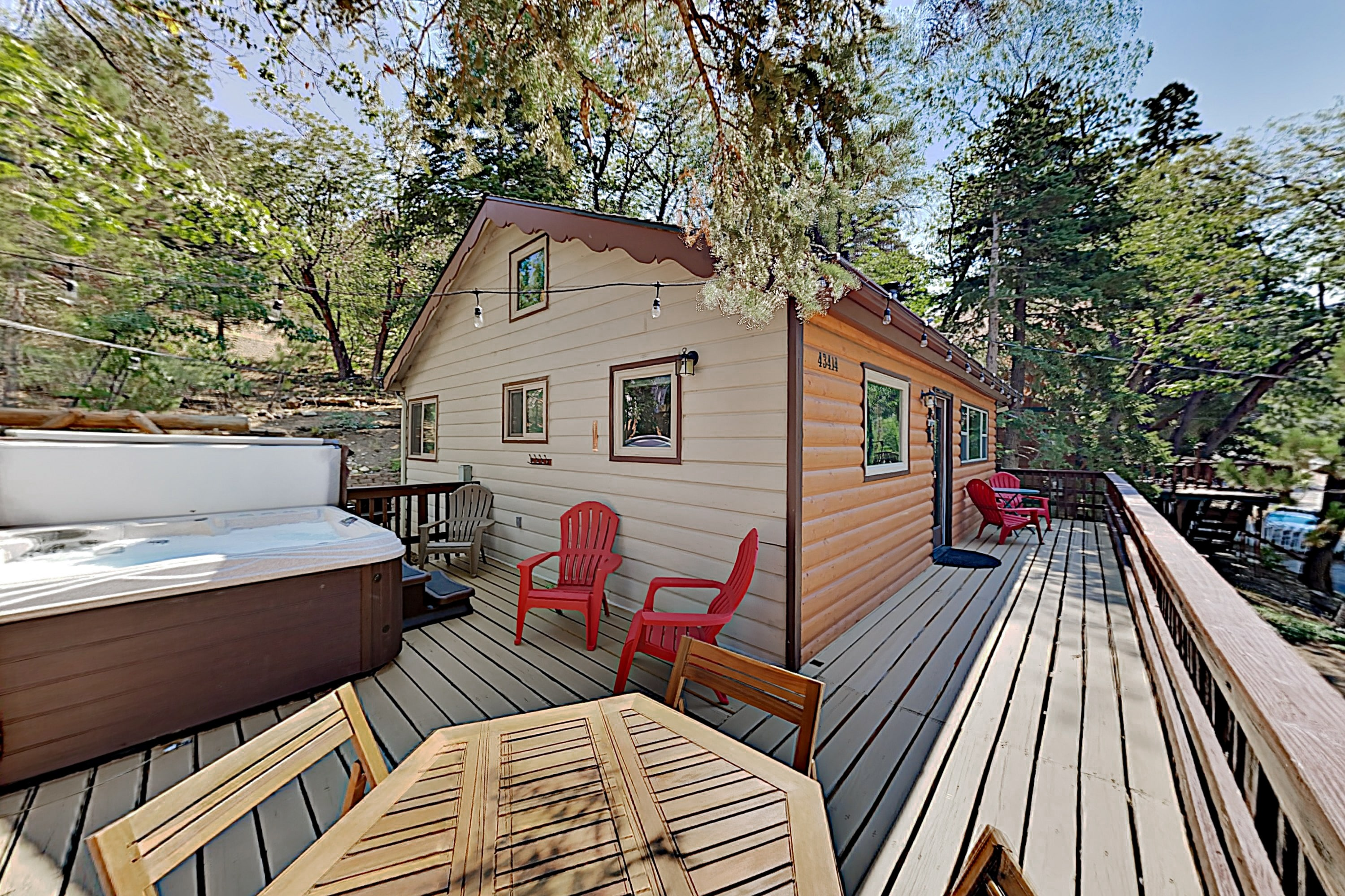 Property Image 1 - Updated Vintage Cabin: Hot Tub, Near Skiing, Golf
