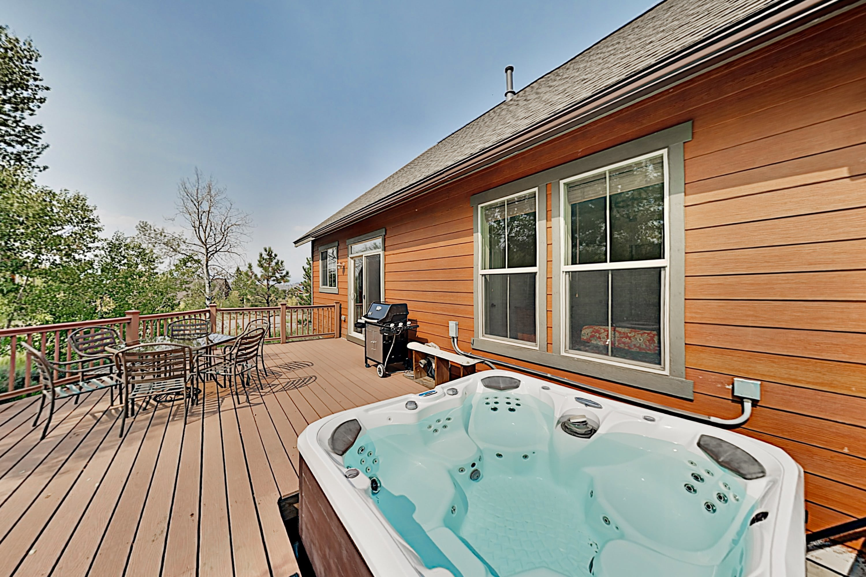 All-Season Granby Ranch Home with Private Hot Tub