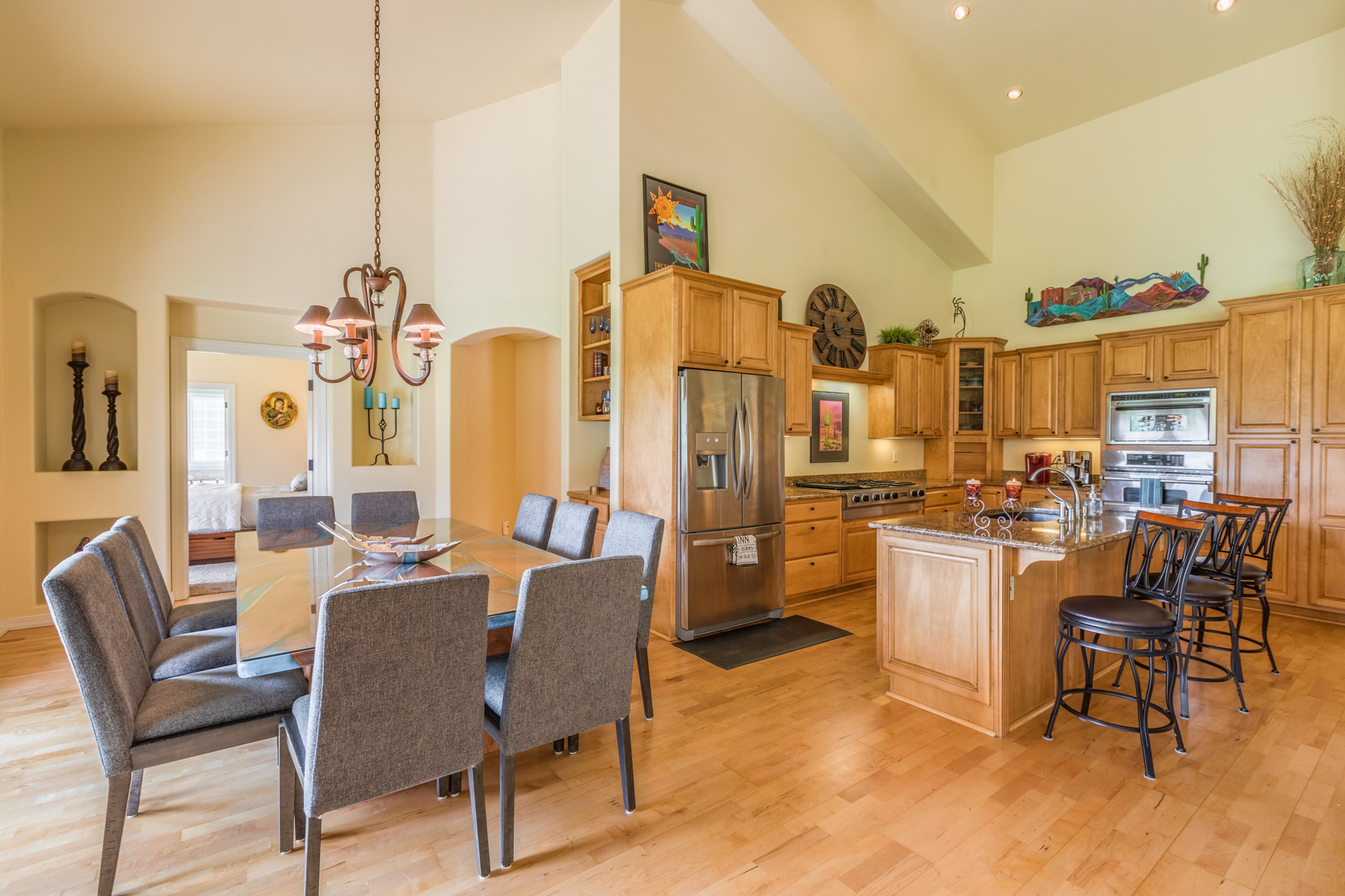 Lavish Retreat | Dual Living Areas & Golf Views