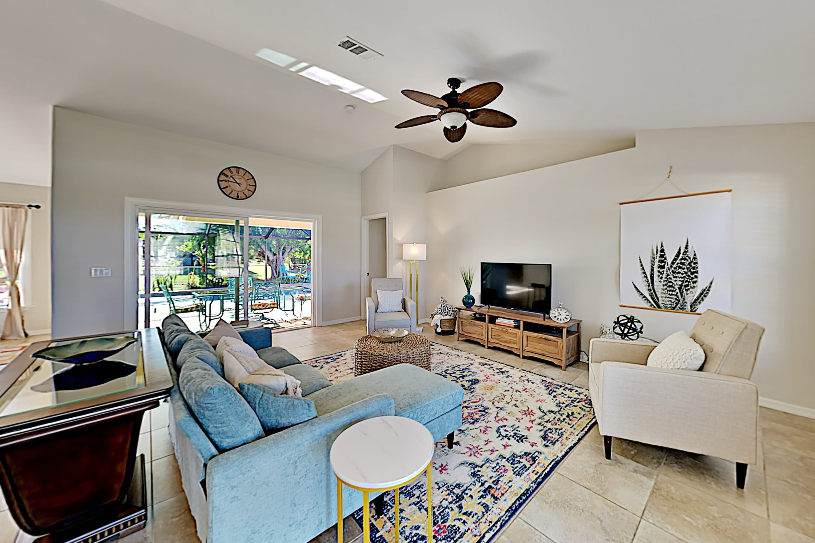 Property Image 2 - Surfside Oasis | Screened Lanai with Heated Pool