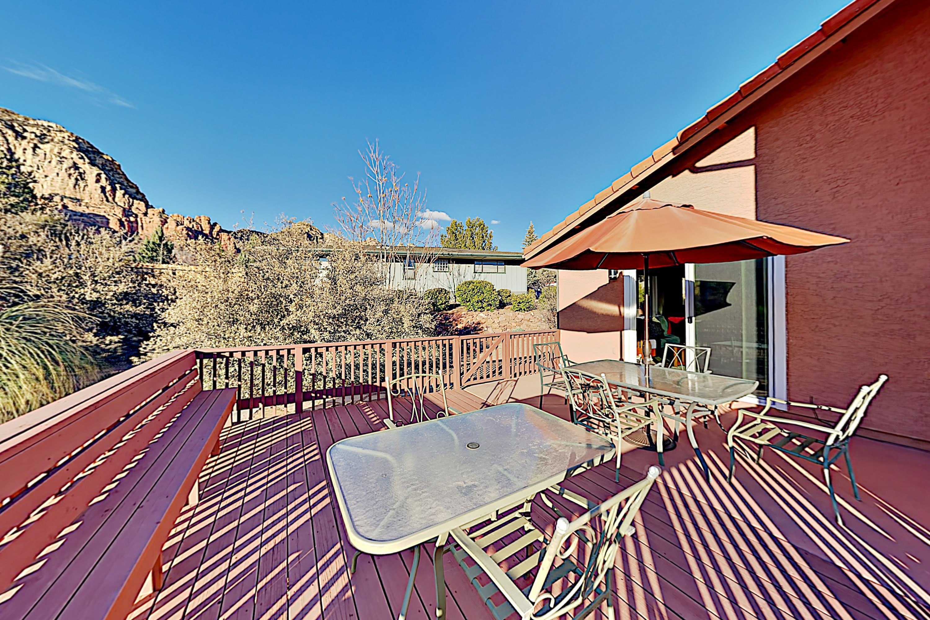Thunder Mountain Home | Red Rock-View Deck