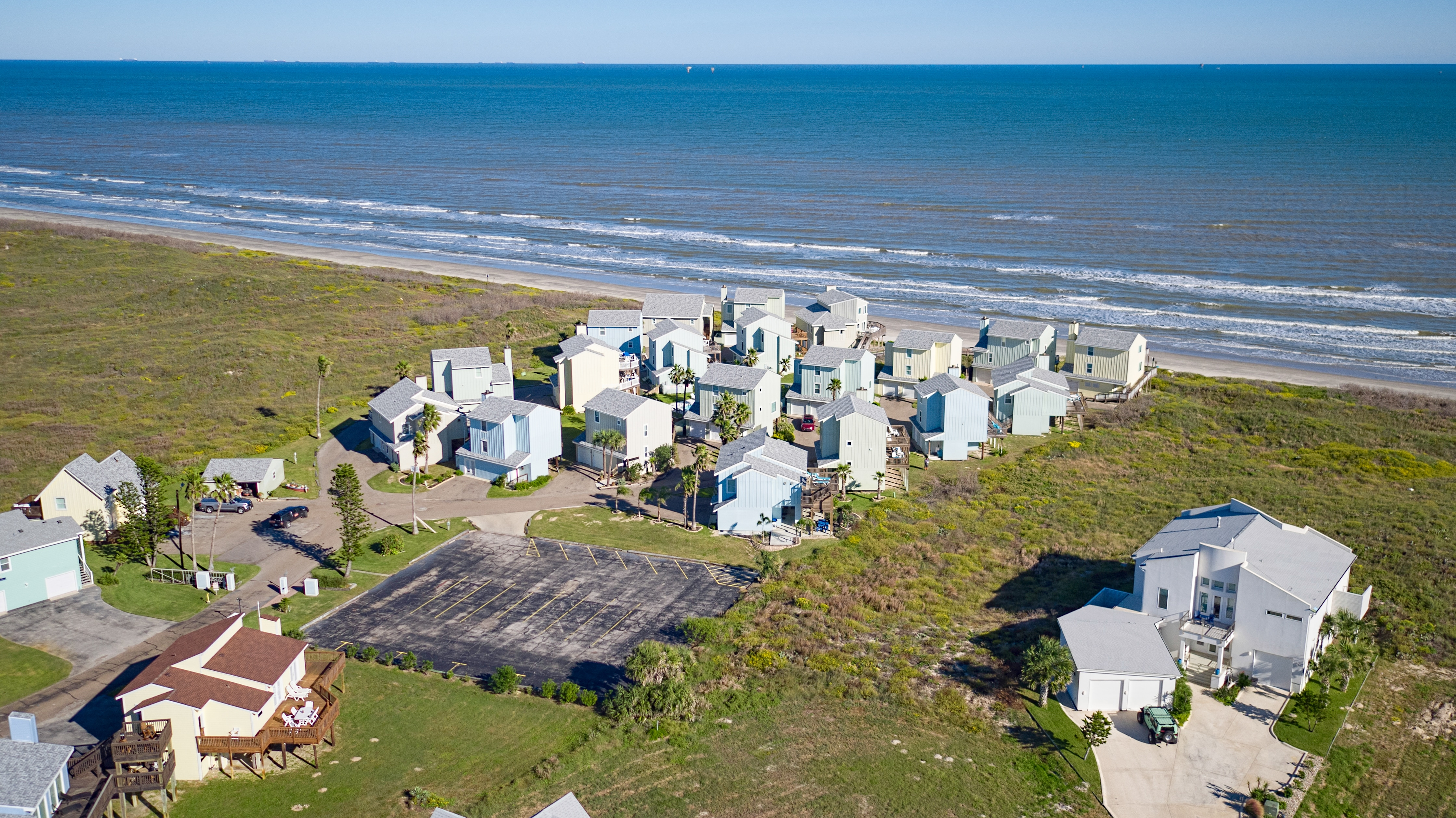 Welcome to Port Aransas! Your rental is located in the exclusive Lost Colony beachfront community.