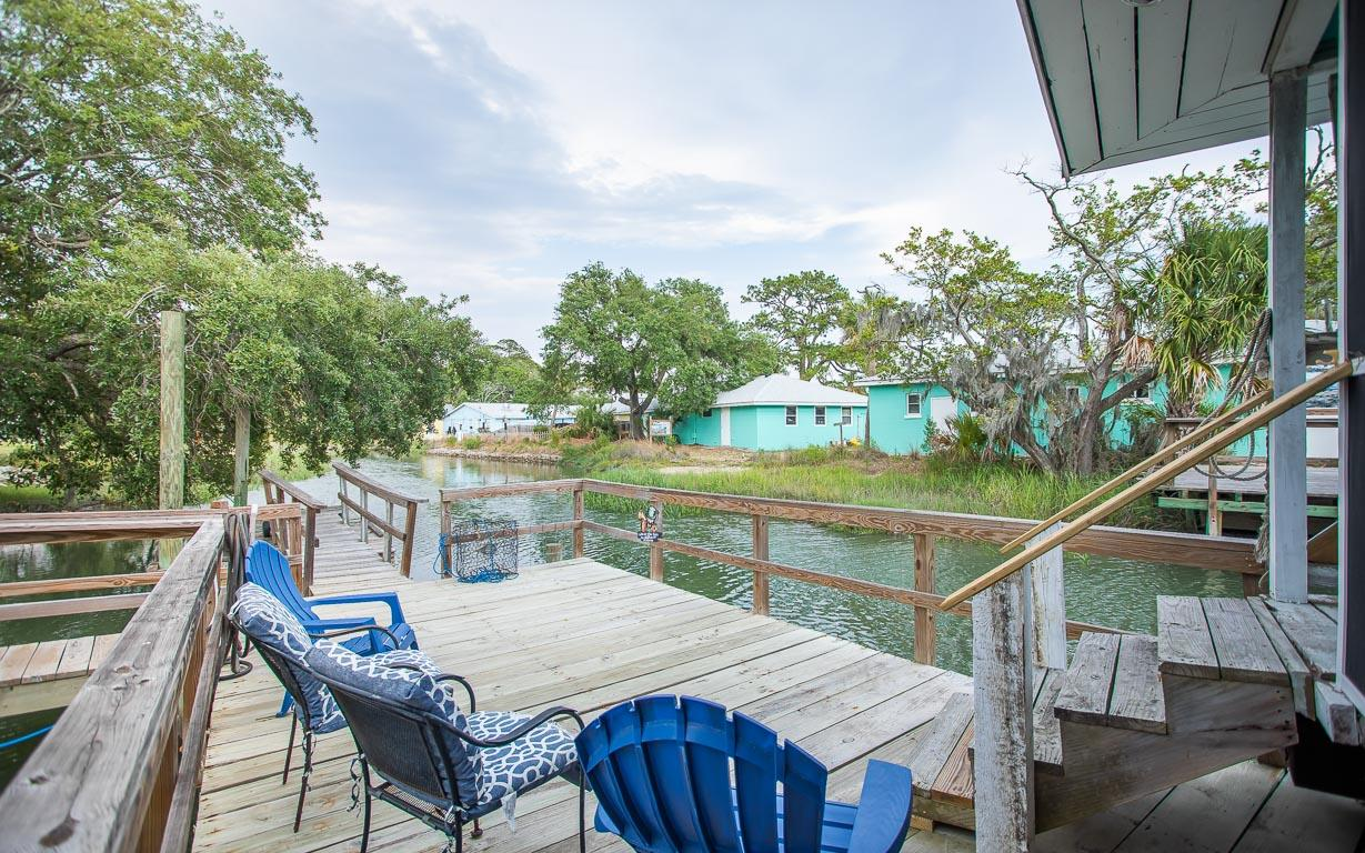 Tybee Island River House with Private Dock Sleeps 8