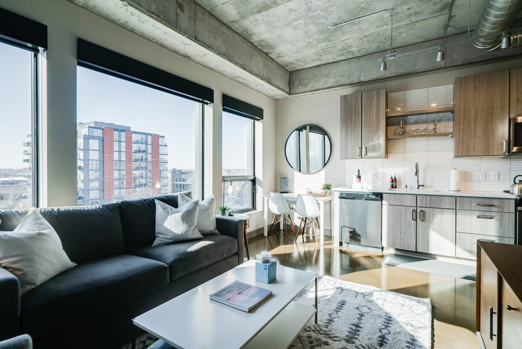 North Loop Condo with Beautiful Finishes