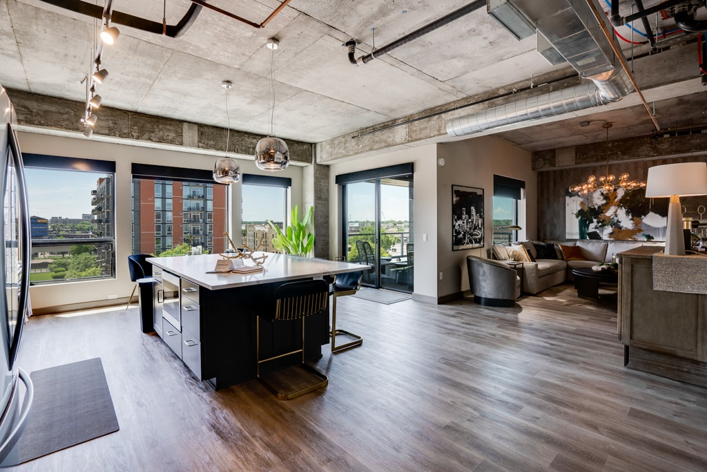 Highroller Two-Story Penthouse Loft in the North Loop