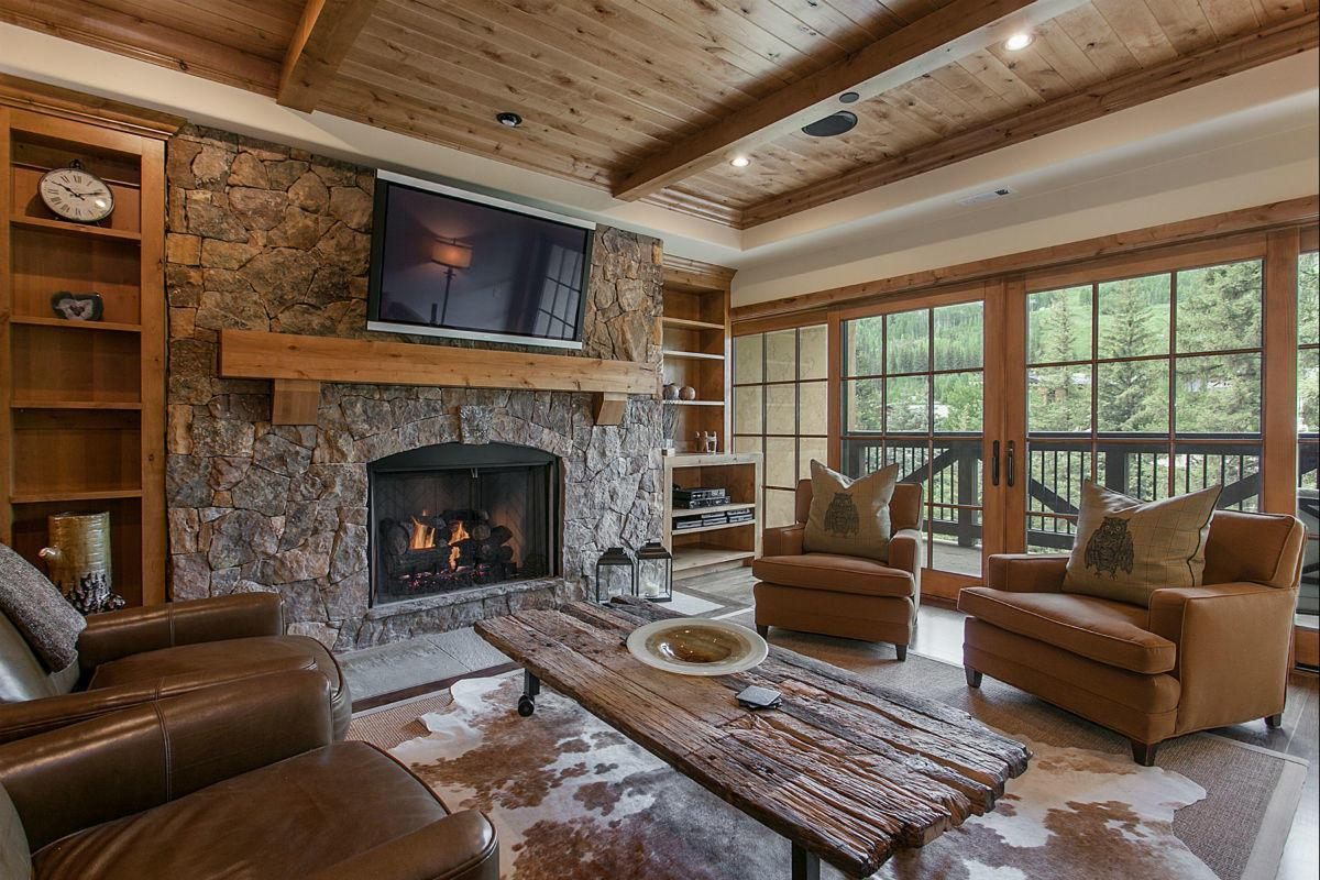 Rustic Chic Ski Village Home Near Chair Lift