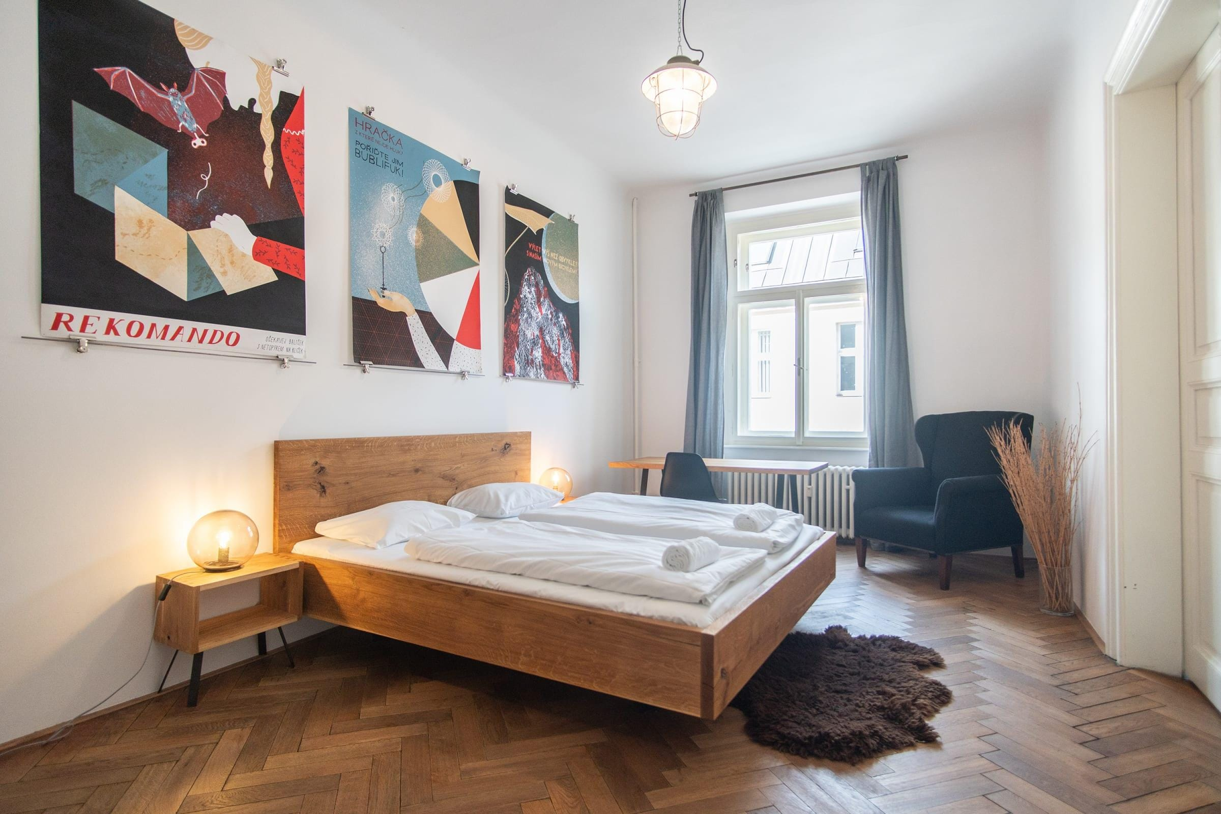 Property Image 1 - Fantastic flat with Industrial Feeling on Wenceslas Square for 5