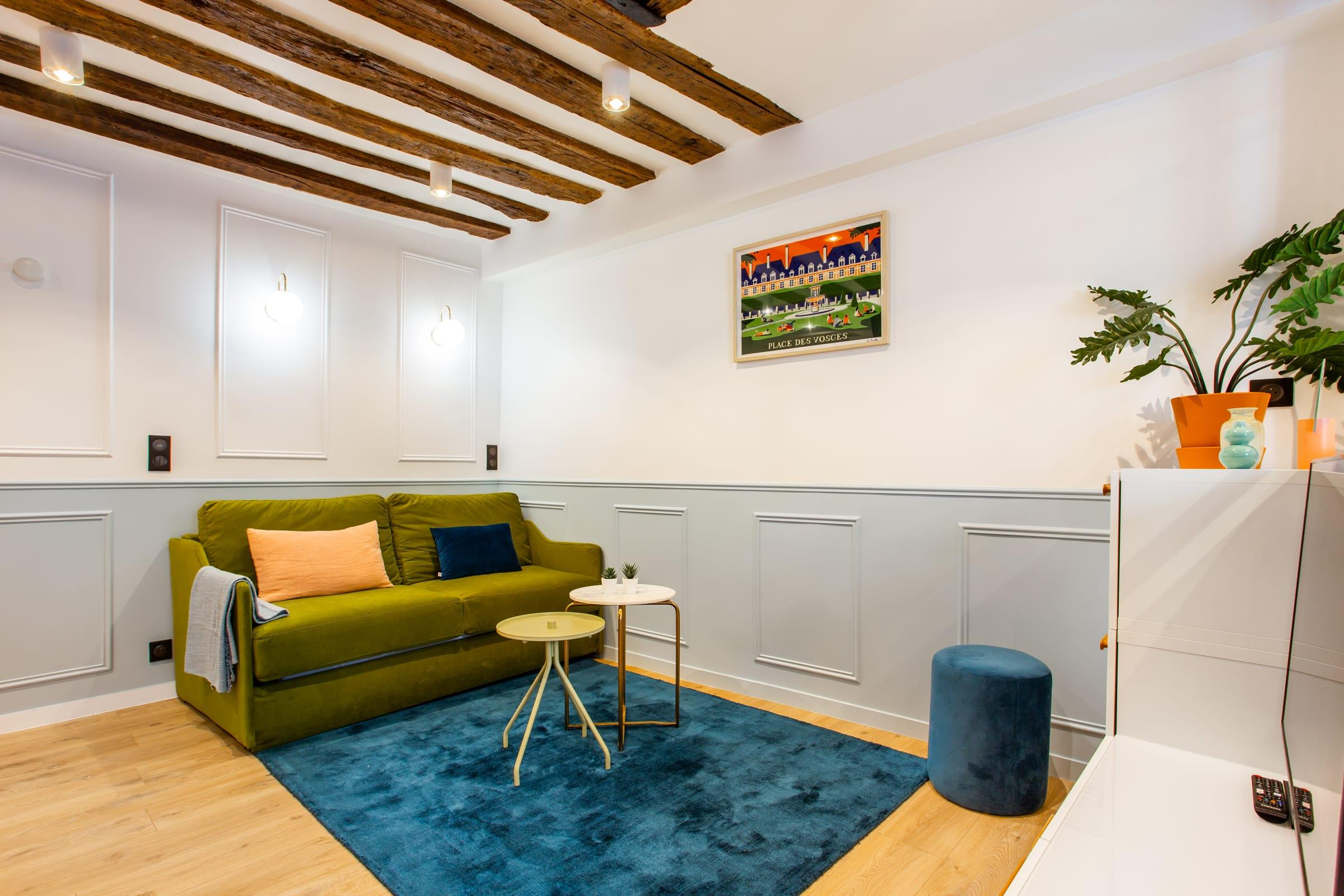 Property Image 1 - Le Marais Gorgeous One-Bedroom Apartment with Queen Bed