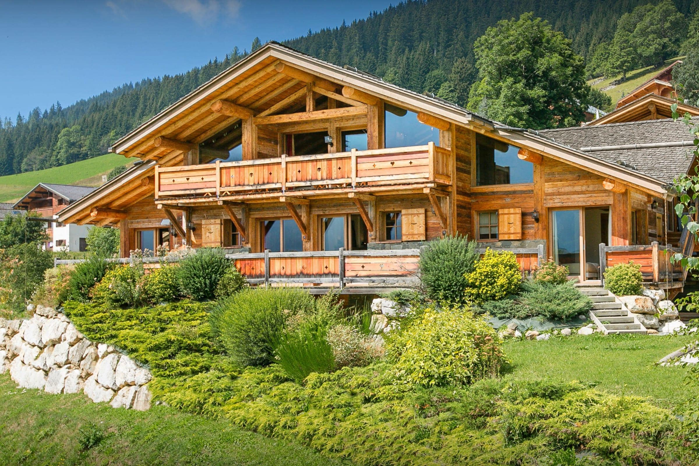 Property Image 2 - Fabulous Alpine Lodge With Indoor Swimming Pool