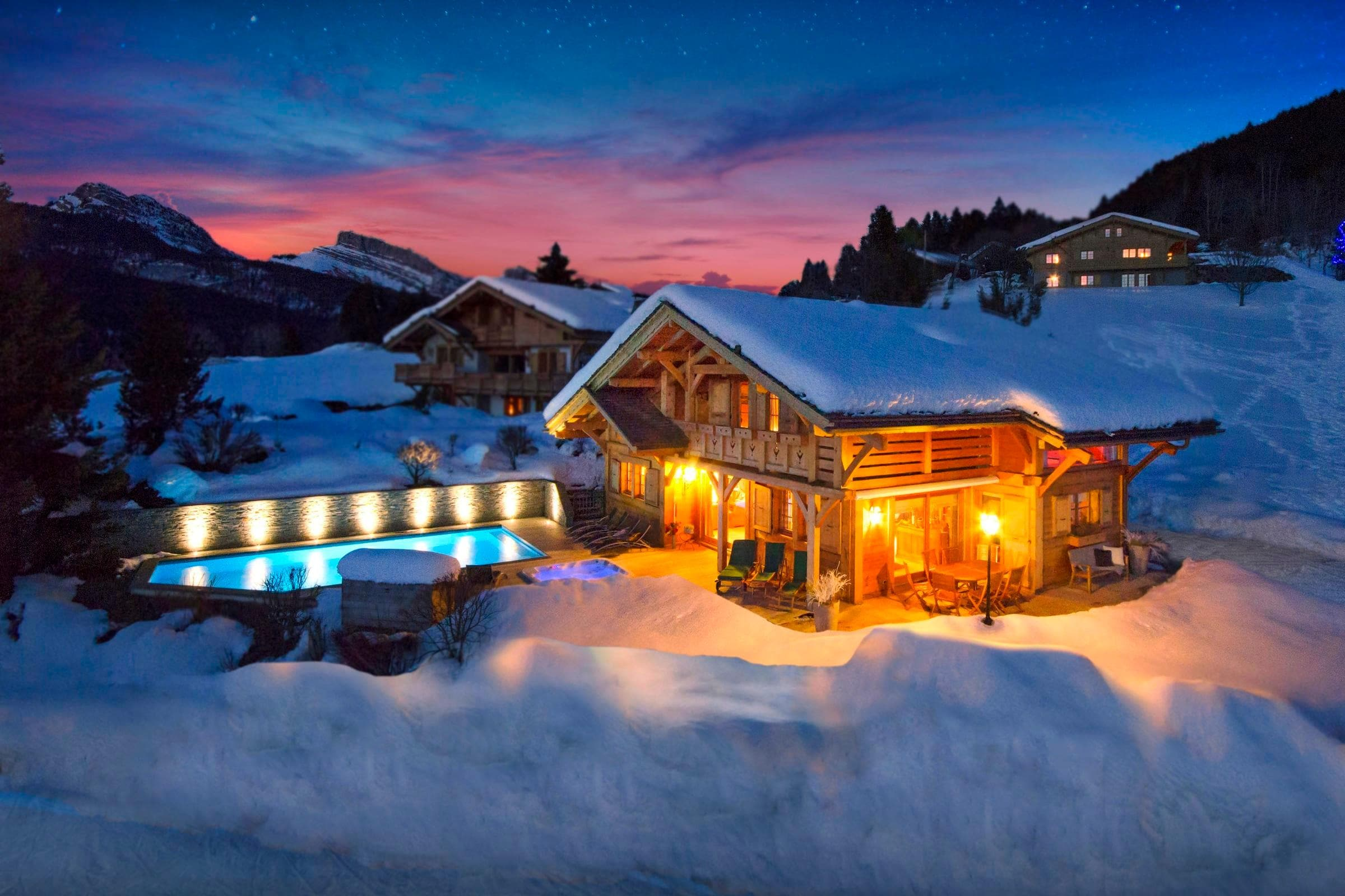 Property Image 1 - Five-Star Alpine Chalet With Outdoor Pool