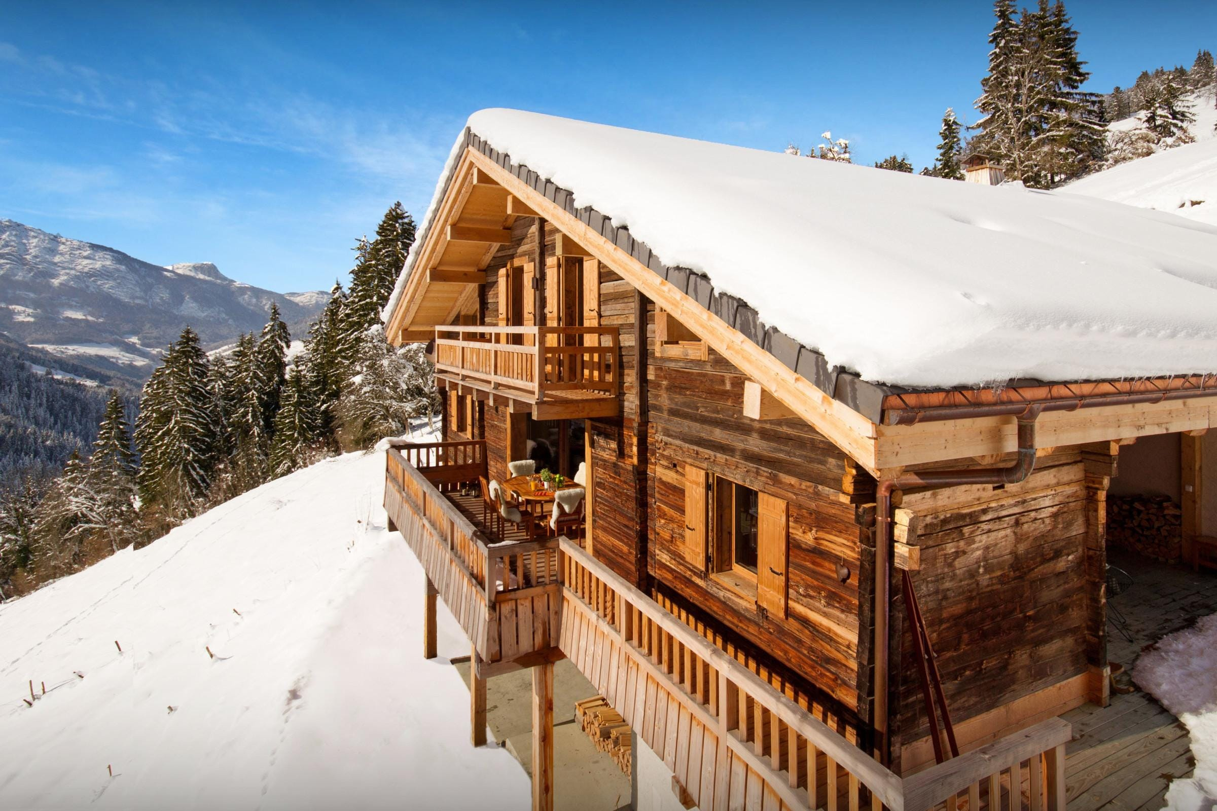 Property Image 1 - Cozy Five-Star Chalet With Hot Tub and Hammam