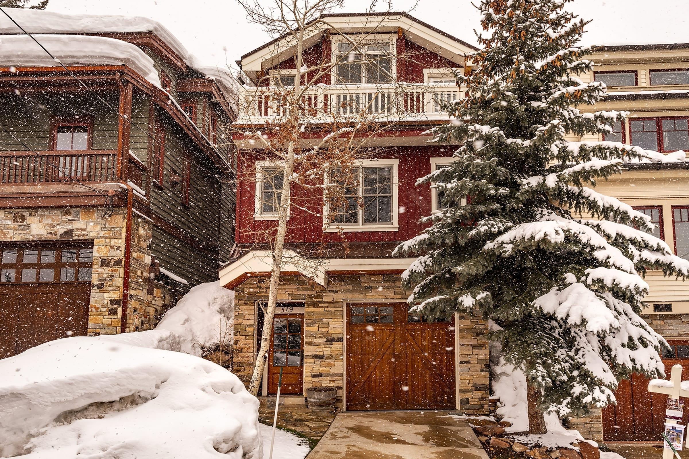 Charming Old Town Home with Direct Ski Access to PCMR