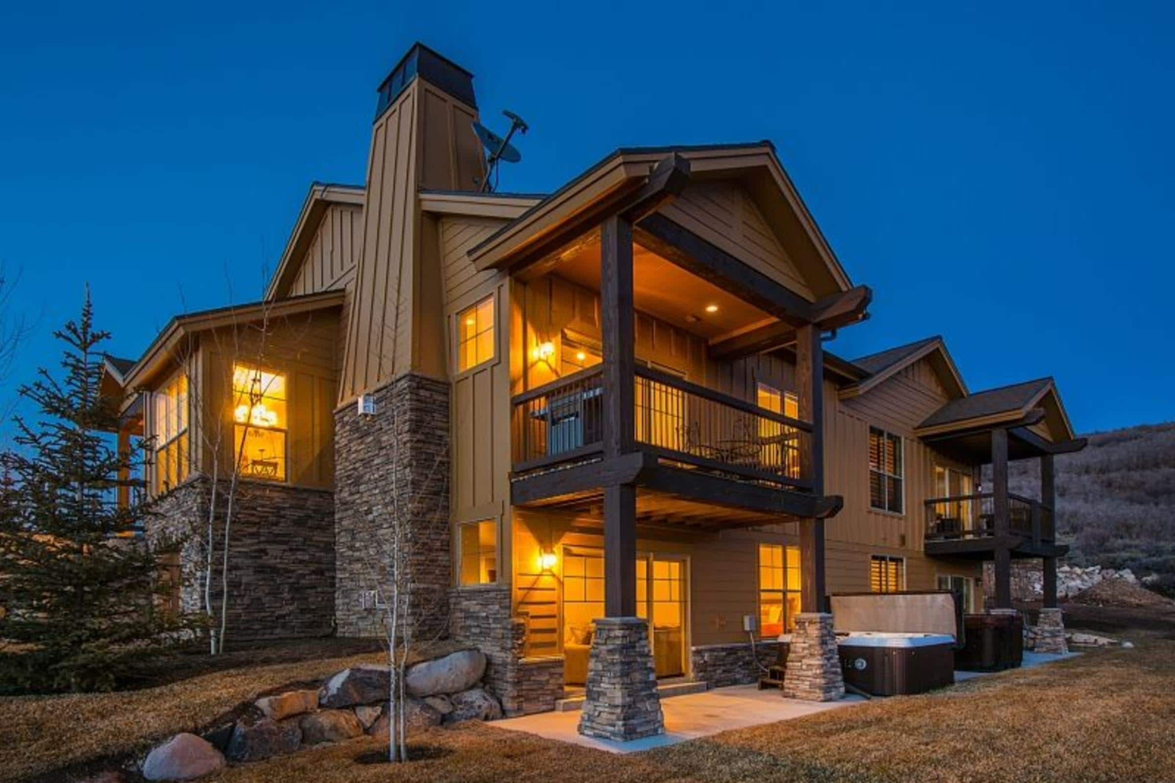 Property Image 1 - Beautiful Mountain Escape Close to Main Street, w/ Hot Tub, Media Room, & Views!