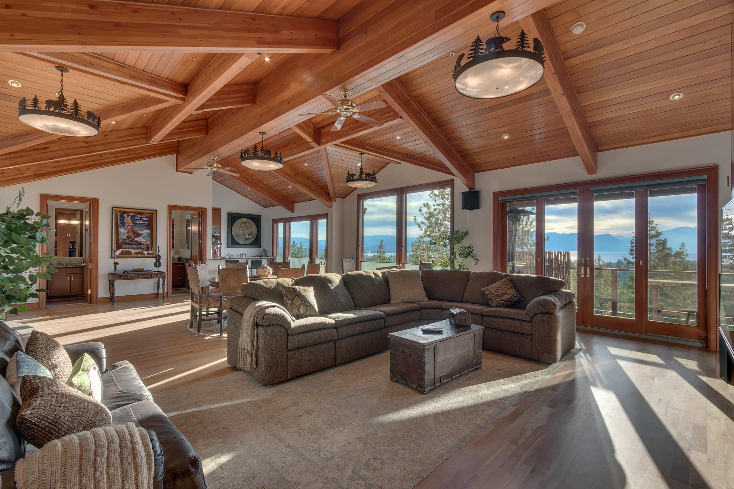 Tahoe Estate with Lake Views & a Private Indoor Pool