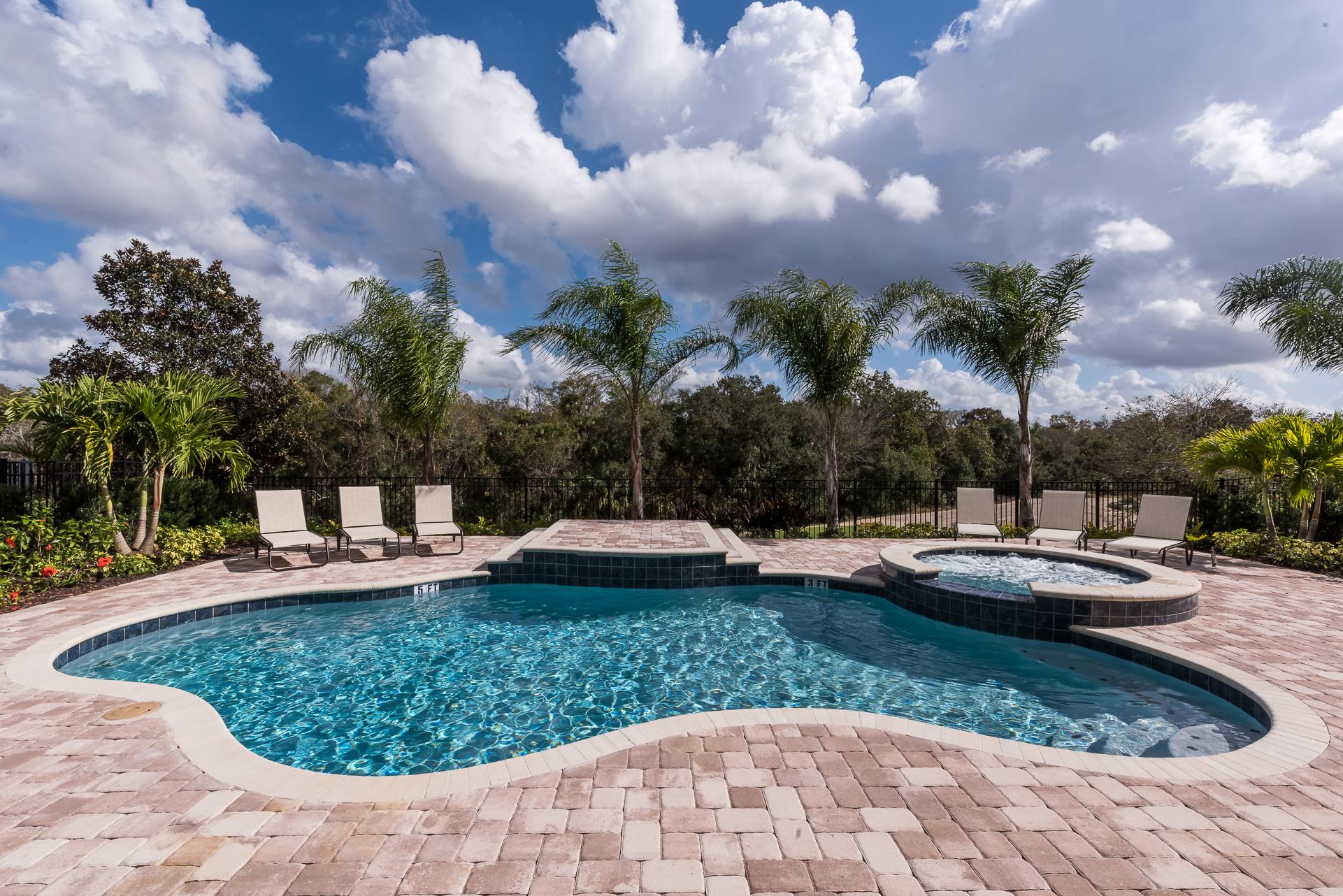 Spacious Oasis with Large Pool Deck at Reunion