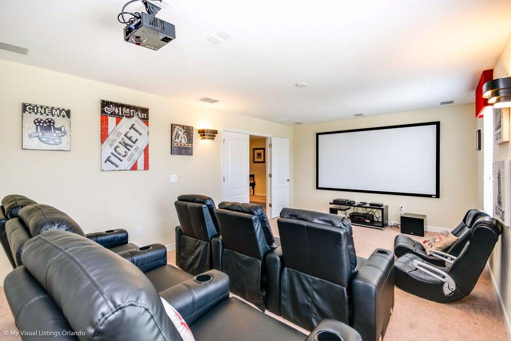 Property Image 2 - Spacious Home with Movie Theater, Game Room and Pool