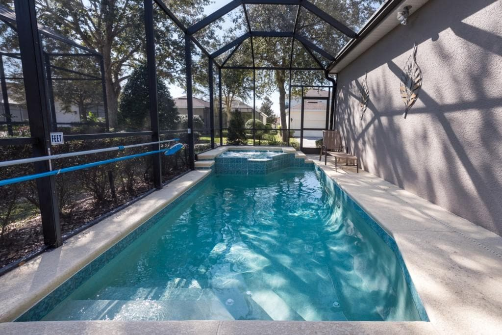 Charming Home with Screened In Pool at Reunion