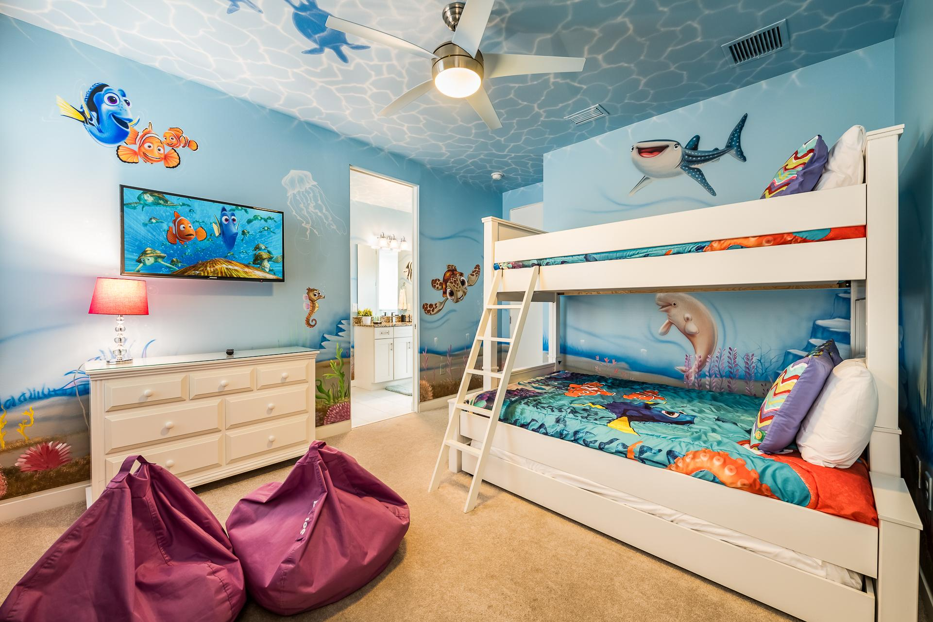 Modern Villa with Fun Themed Bedroom at Reunion