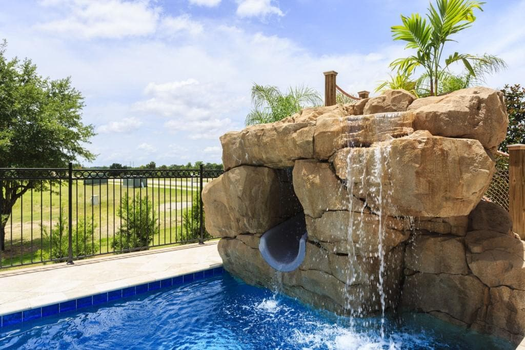 Upscale Mansion with Pool and Slide at Reunion