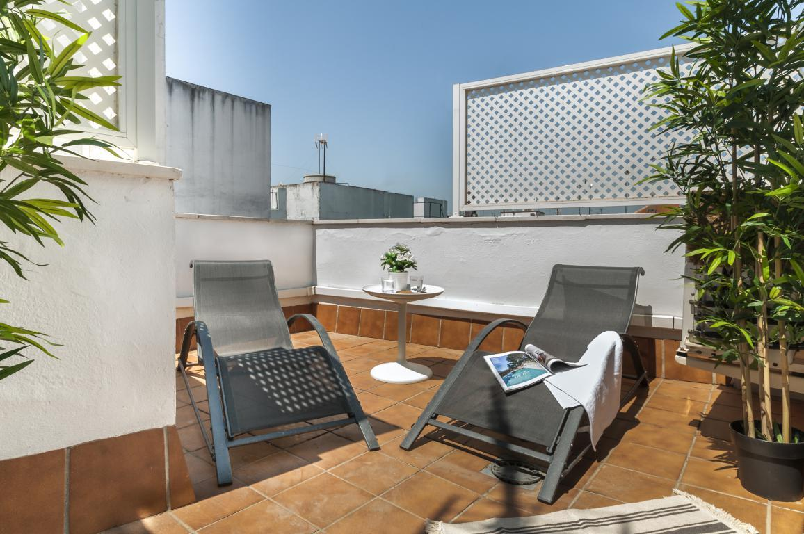 Property Image 2 - Exclusive 2 bedrooms Duplex with 2 terraces in the heart of Seville