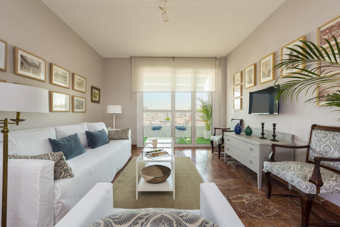 Property Image 2 - Bright San Pablo III Centric Apartment with Terrace