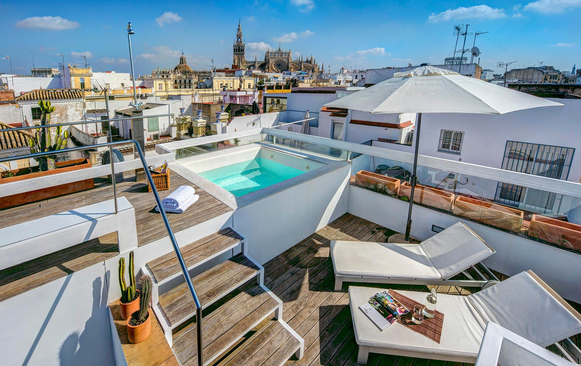 Property Image 1 - Carreteria Luxury Penthouse with Gorgeous Terrace and Pool