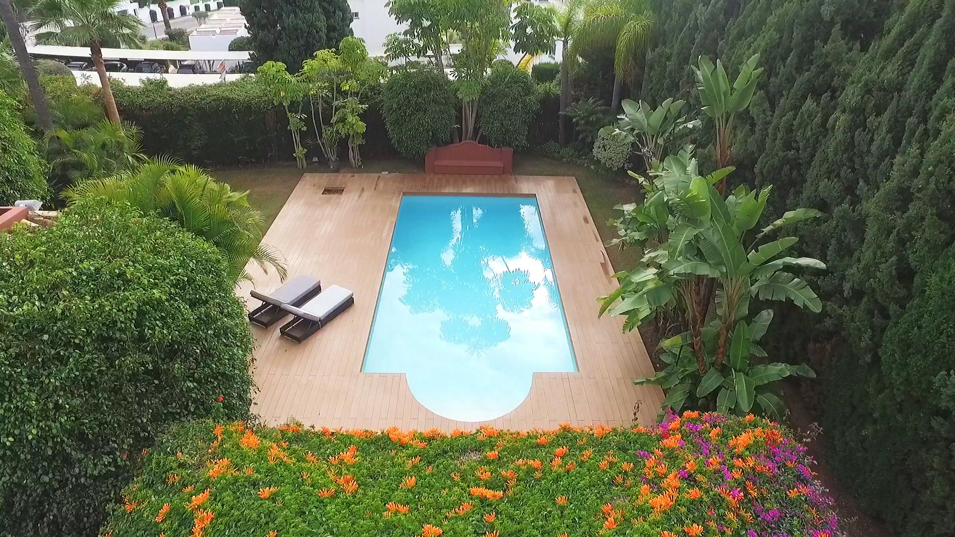 Property Image 1 - Stylish Villa with Private Garden & Pool; Near Golf & Shops