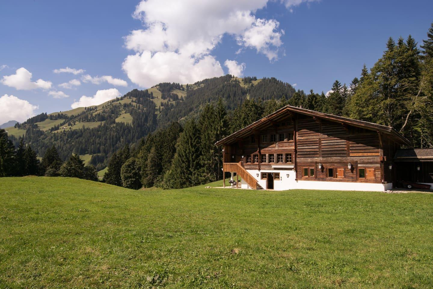 Property Image 1 - Swiss Chalet Luxurious Farm House